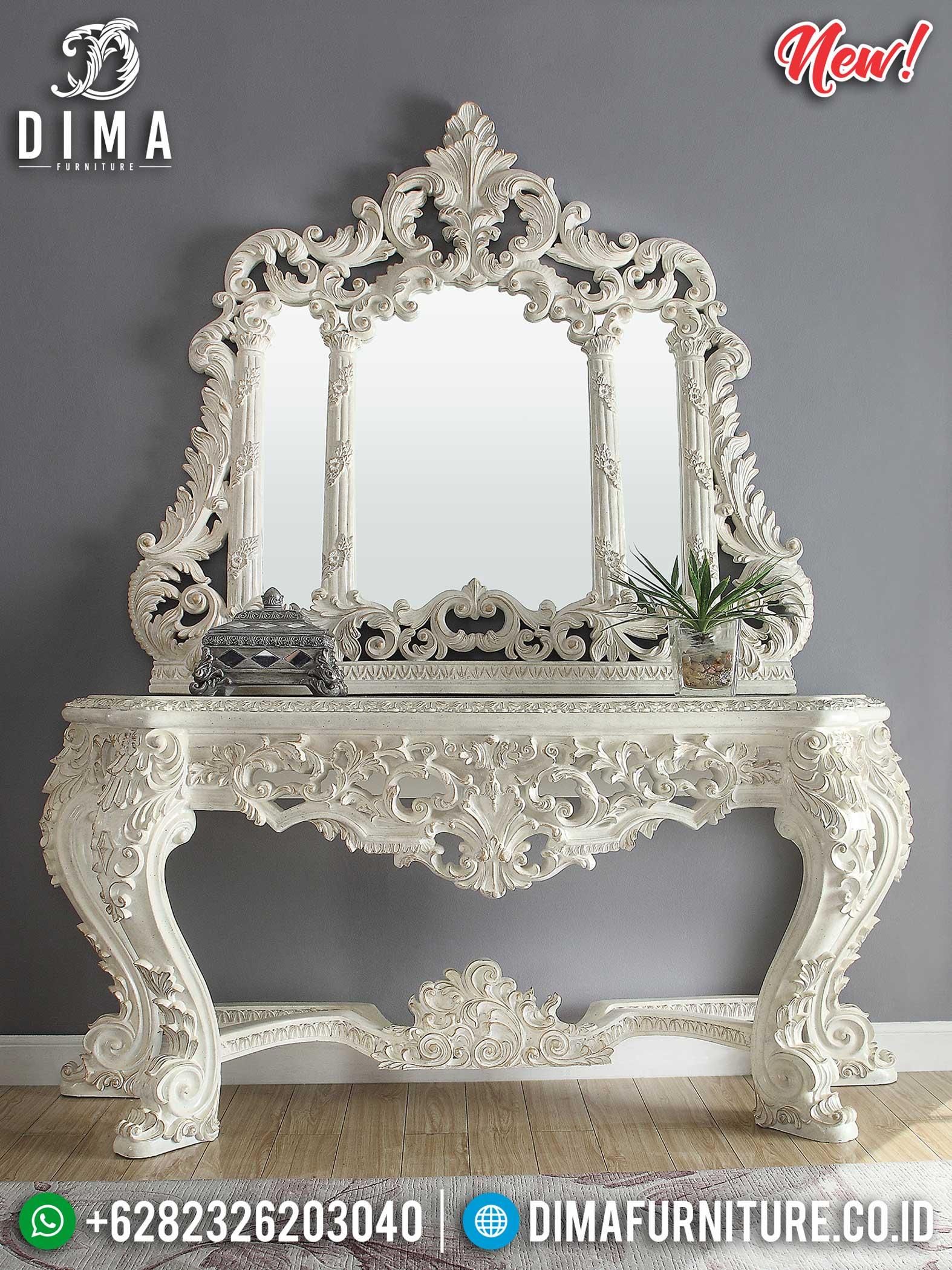 Majestic Style Meja Konsol Ukiran Jepara Elegant Luxy Carving Jepara TTJ-1157