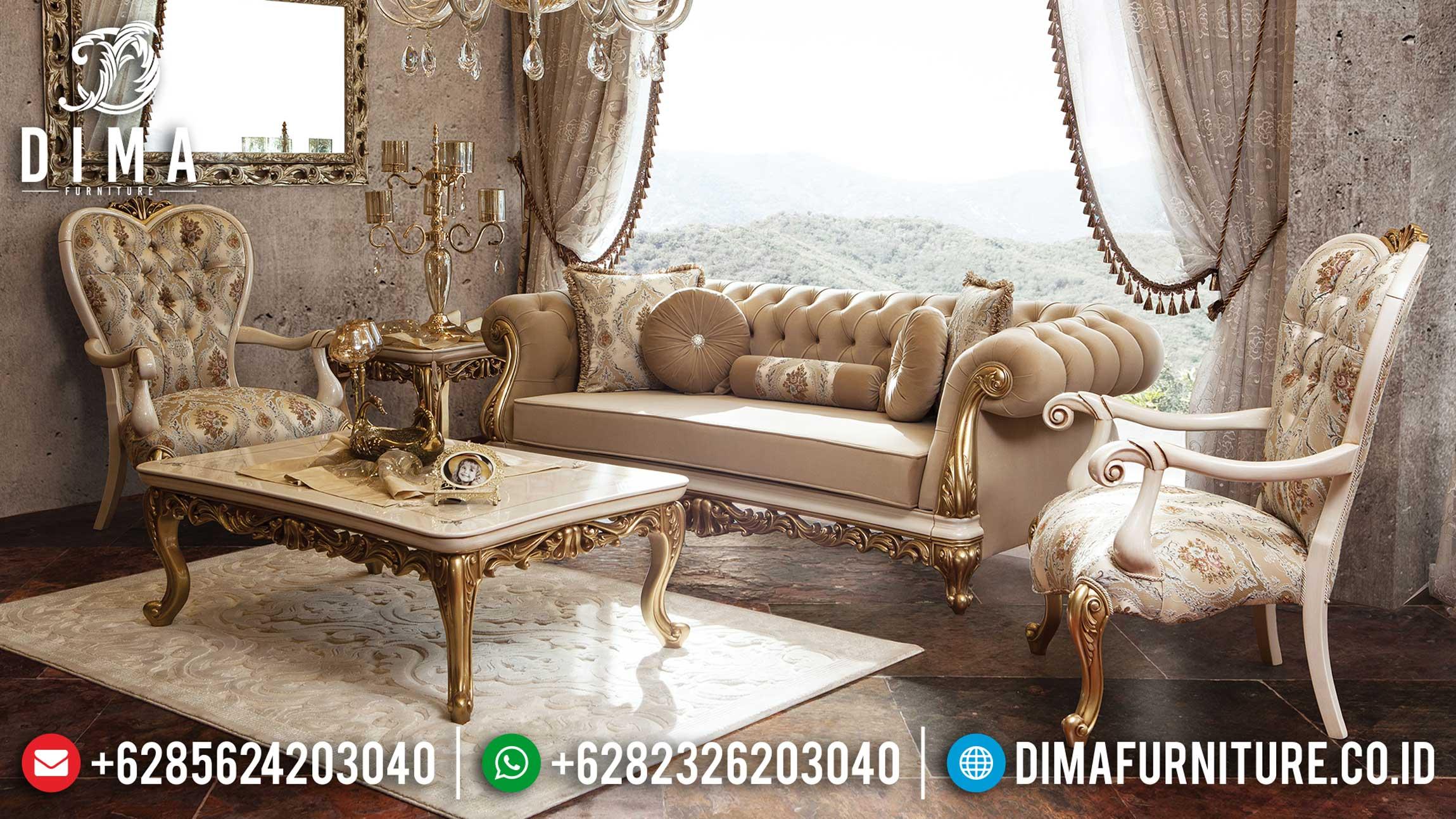 Model Sofa Tamu Jepara Mewah Luxury Carving Best Product Mebel Jepara Terkini TTJ-1208