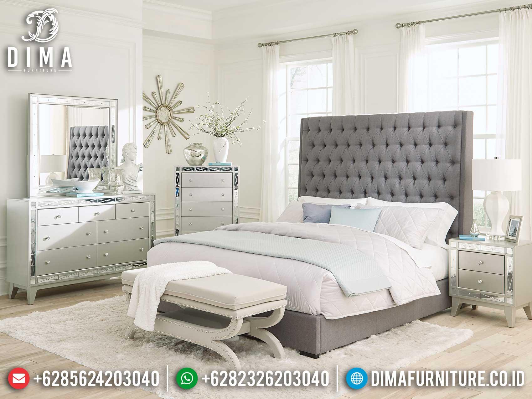 New Set Tempat Tidur Mewah Minimalis Design Harga Terjangkau Style Terbaru TTJ-1175
