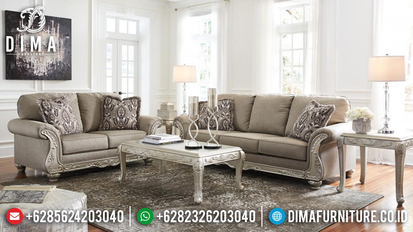 Sofa Mewah Ruang Tamu New Model Furniture Jepara Inspiring Living Room TTJ-1240