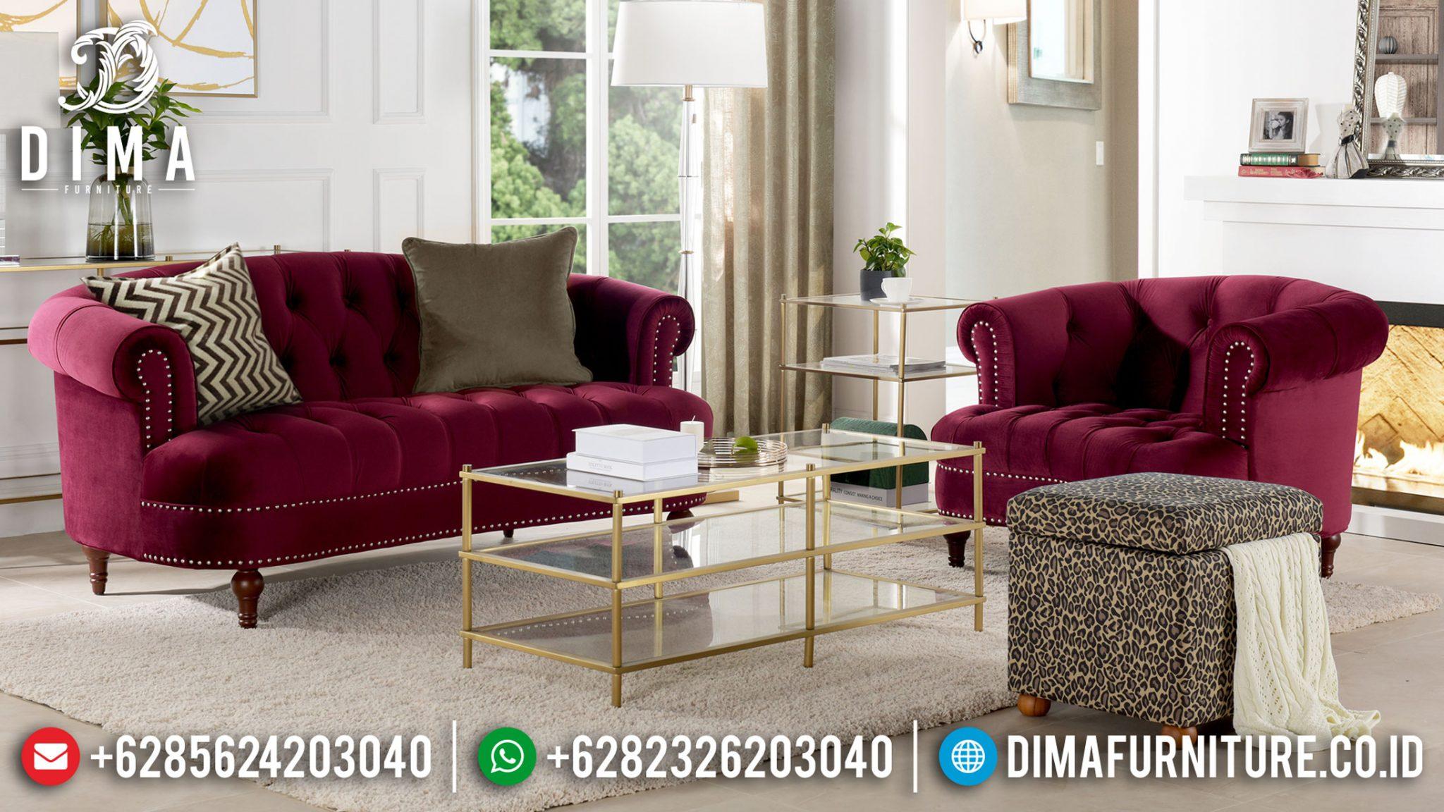 Sofa Tamu Modern Minimalis Elegant Design Mebel Jepara Murah Meriah TTJ-1222