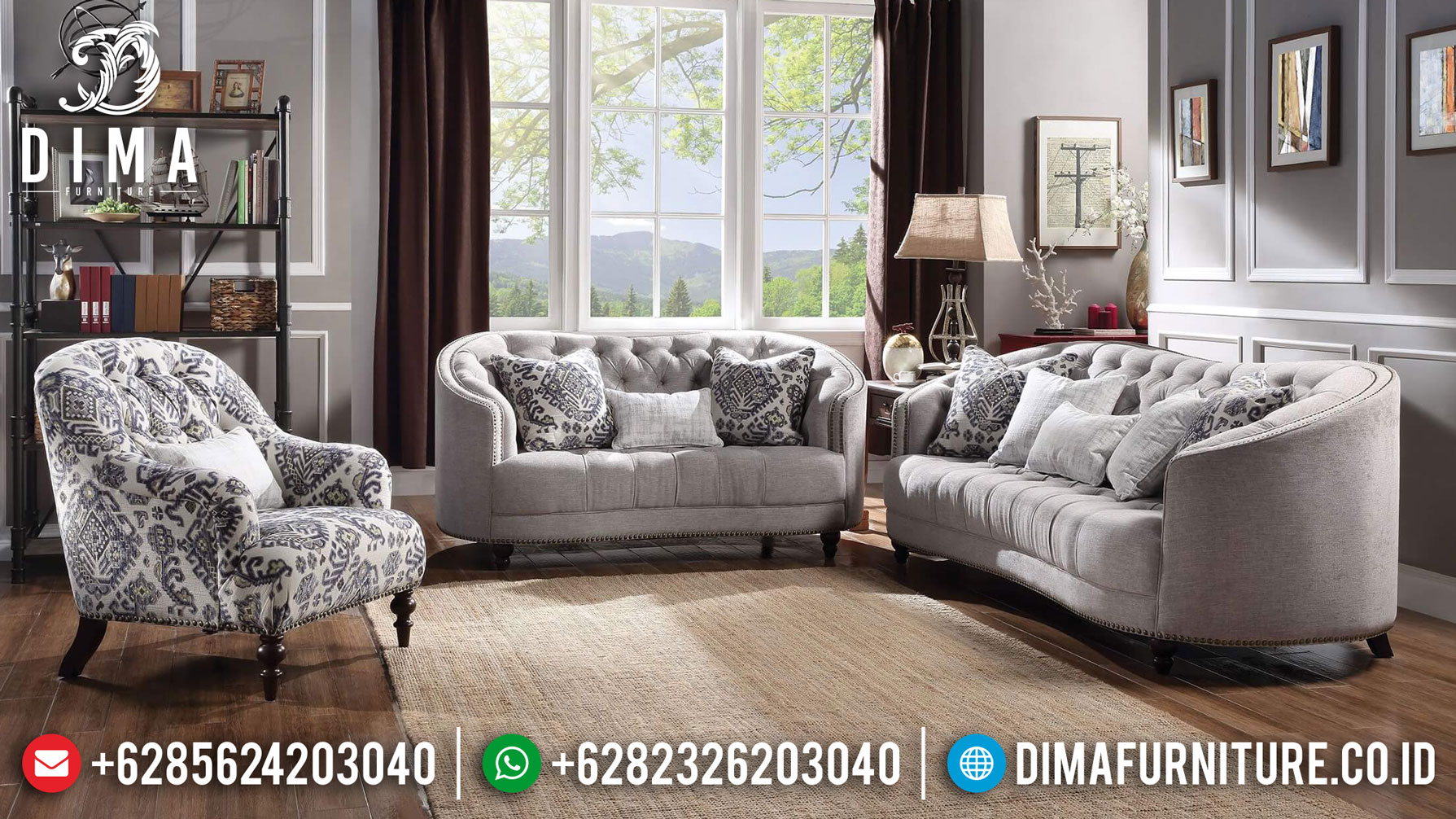 Astex Sofa Tamu Minimalis Jati Natural Get Sale New Year Mebel Jepara TTJ-1258