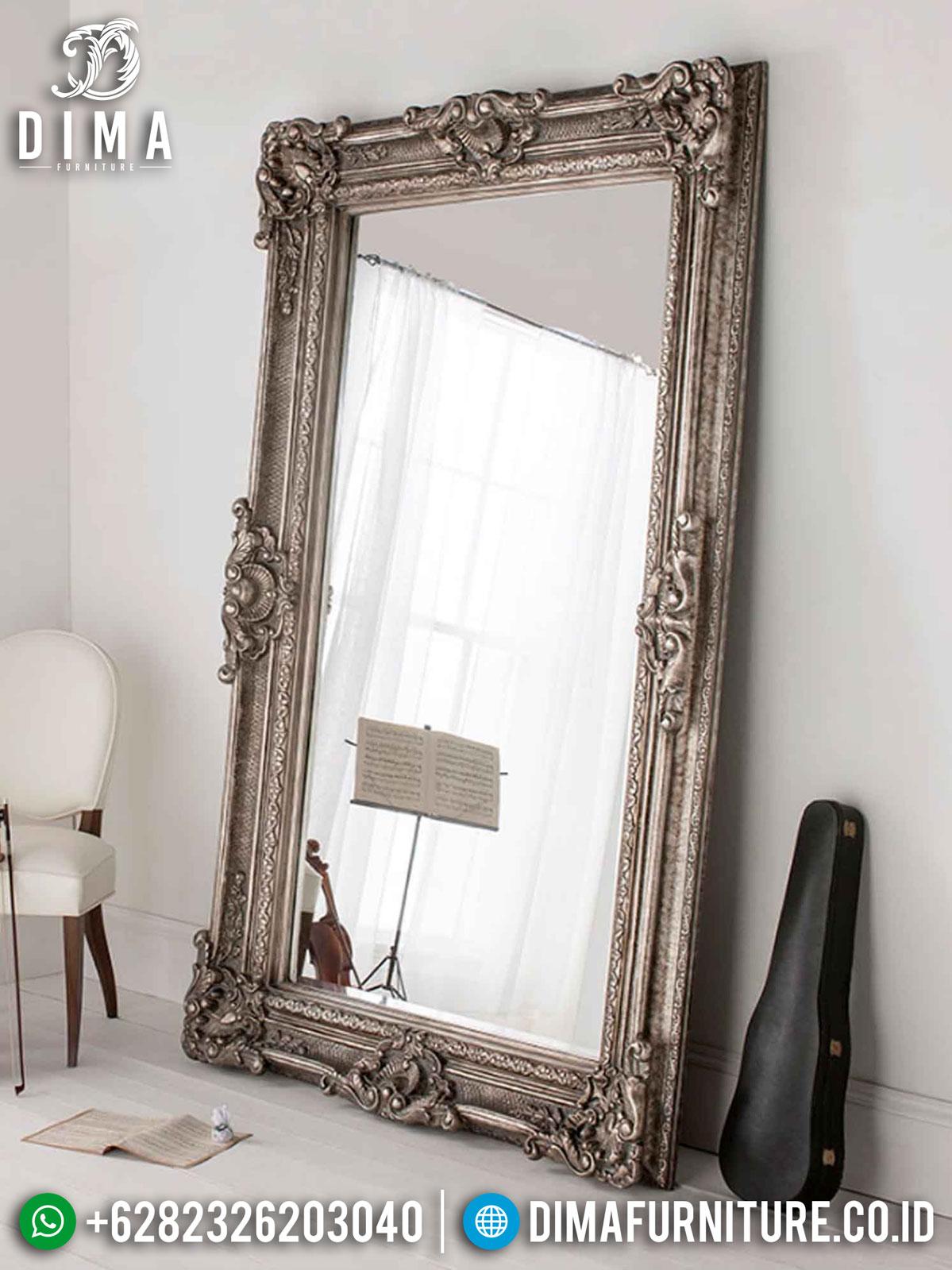 Cermin Hias Stand Mewah Ukiran Luxury Classic Color Italian Style TTJ-1298