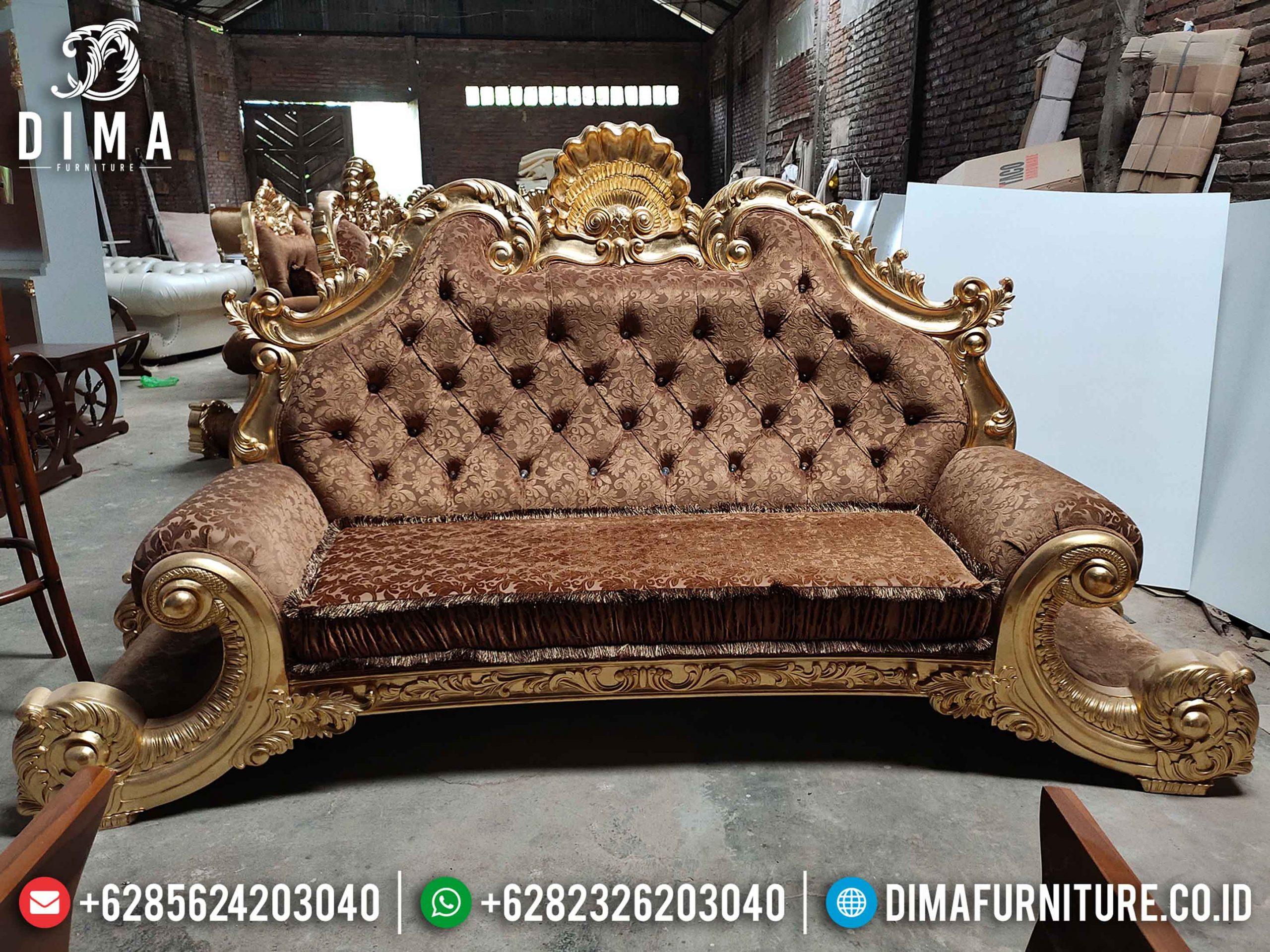 Jackson Style Sofa Tamu Mewah 3 Dudukan High Quality Luxury Design Terbaru TTJ-1280