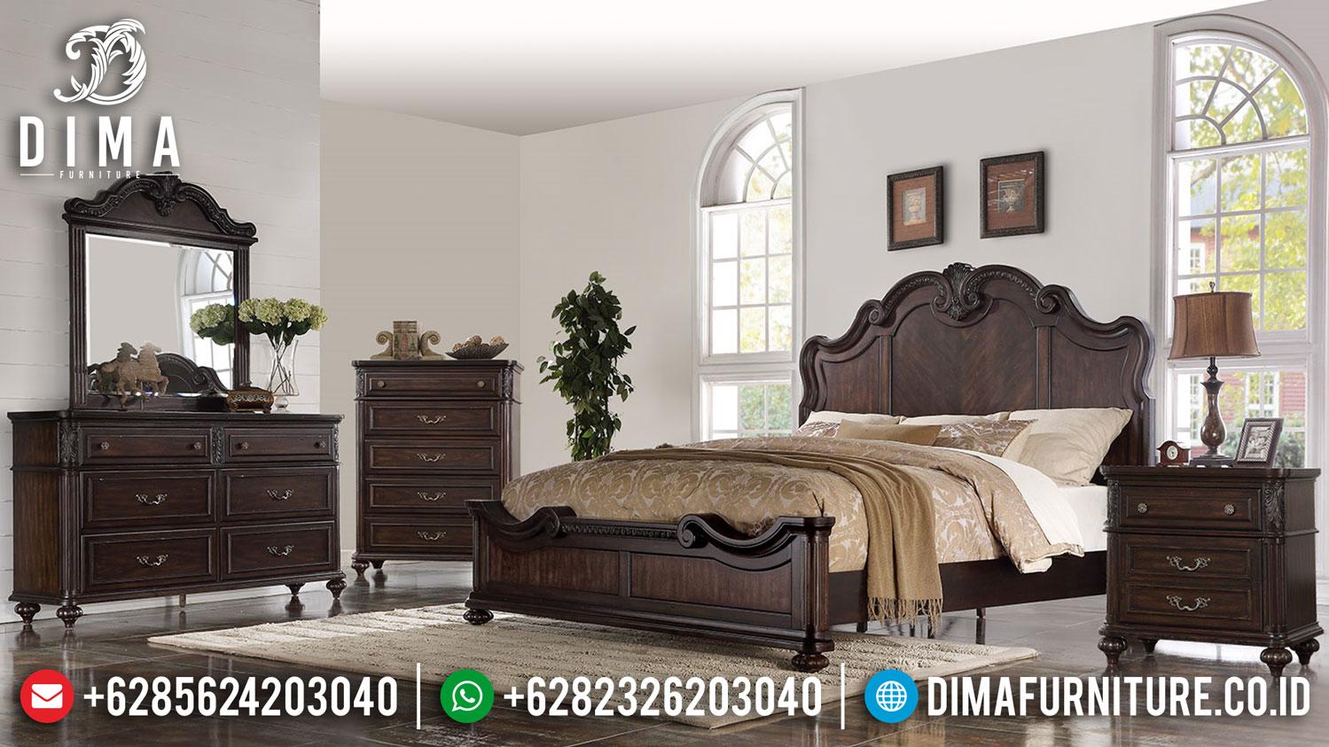 Jual Tempat Tidur Mewah Luxury Classic Louise Design Inspiring Bedroom TTJ-1330