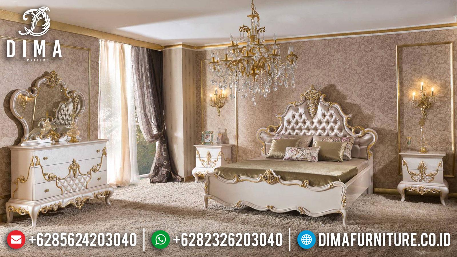 Kamar Set Mewah Jepara Calandre Luxury Classic Design Terbaru TTJ-1321