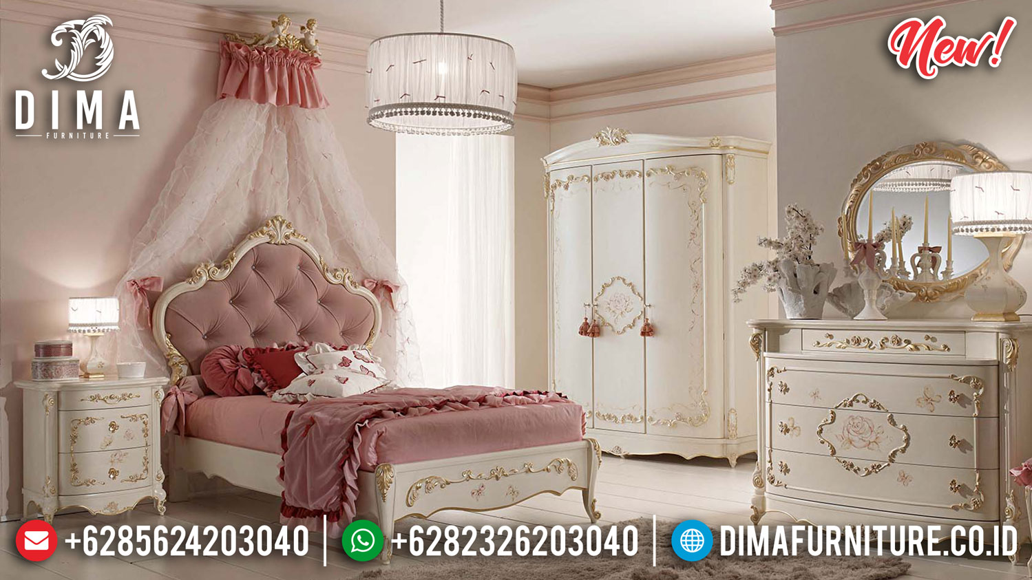 Model Kamar Set Mewah Terbaru Classic Superior Luxury Best Quality TTJ-1326