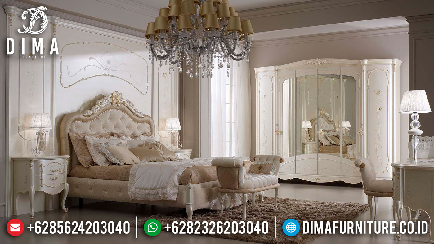 Set Kamar Mewah Ukiran Klasik Luxury Furniture Jepara Update TTJ-1322