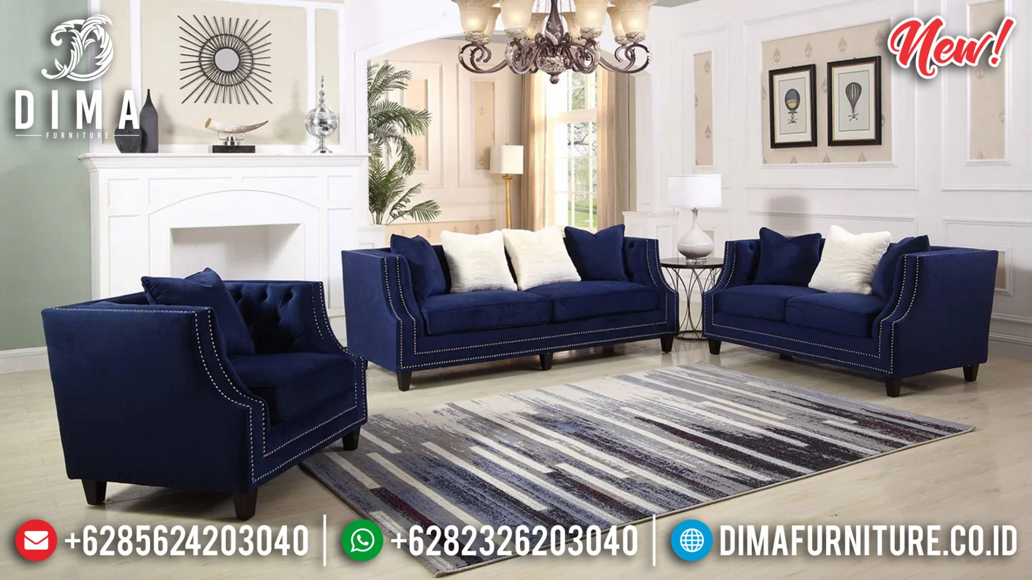 Sofa Tamu Minimalis Furniture Jepara Luxury Classic Design Interior Inspiring Ttj-1272