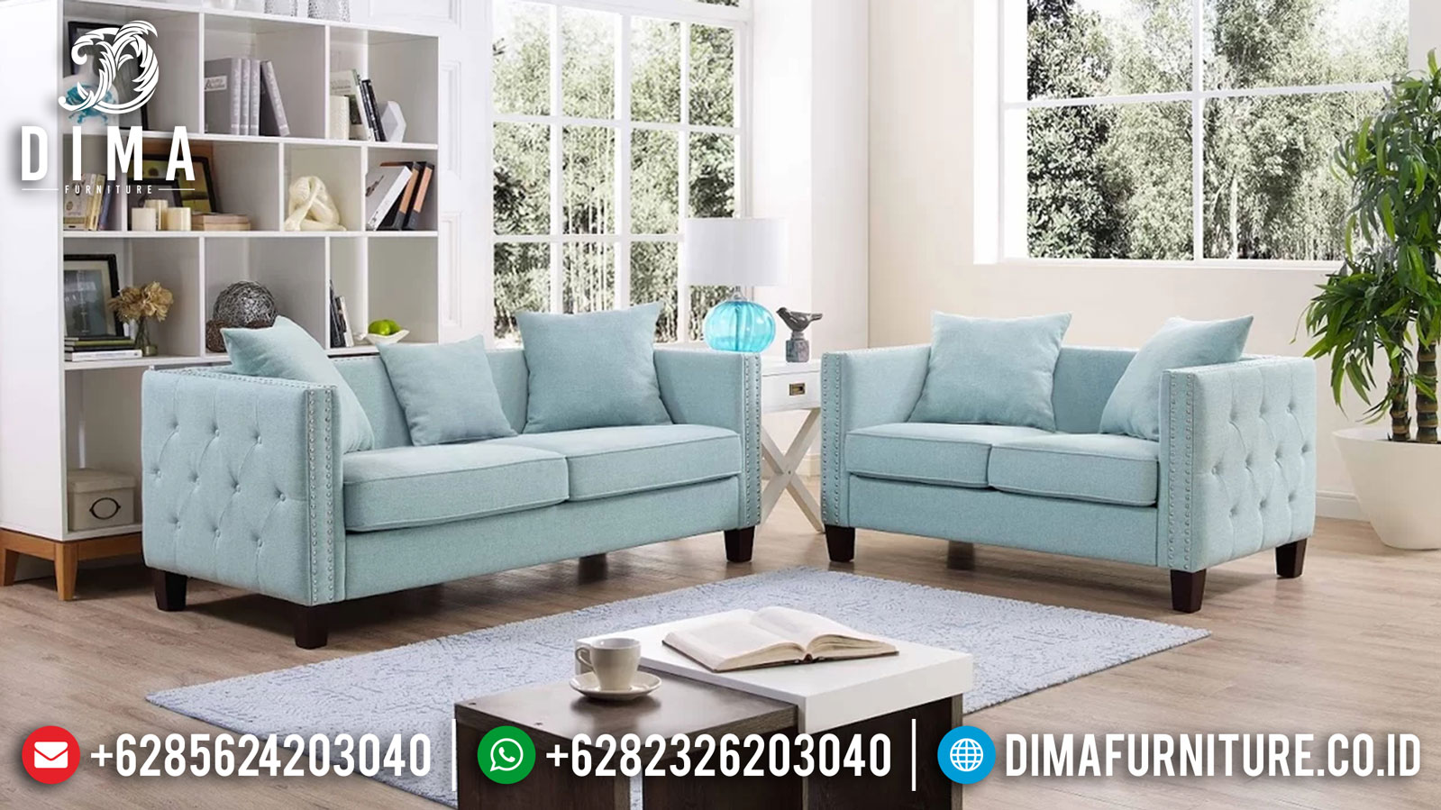 Sofa Tamu Minimalis Jepara Garcia Best Seller Furniture Jepara 2021 TTJ-1257