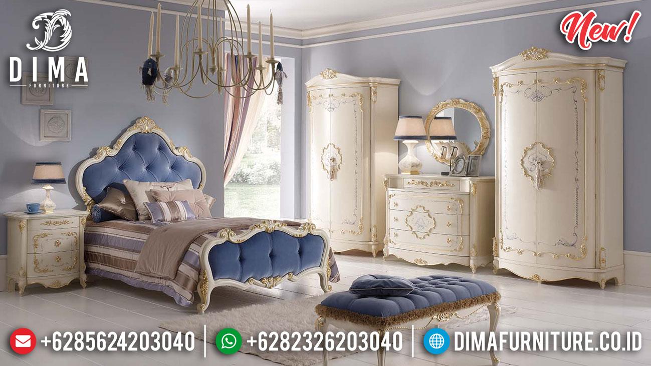 Tempat Tidur Mewah Terbaru Cheara Little Princes Design Bedroom TTJ-1327