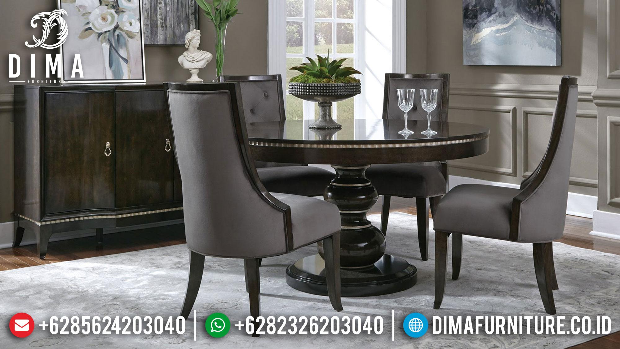 Jual Meja Makan Minimalis Modern New Design Natural Classic Jepara TTJ-1366