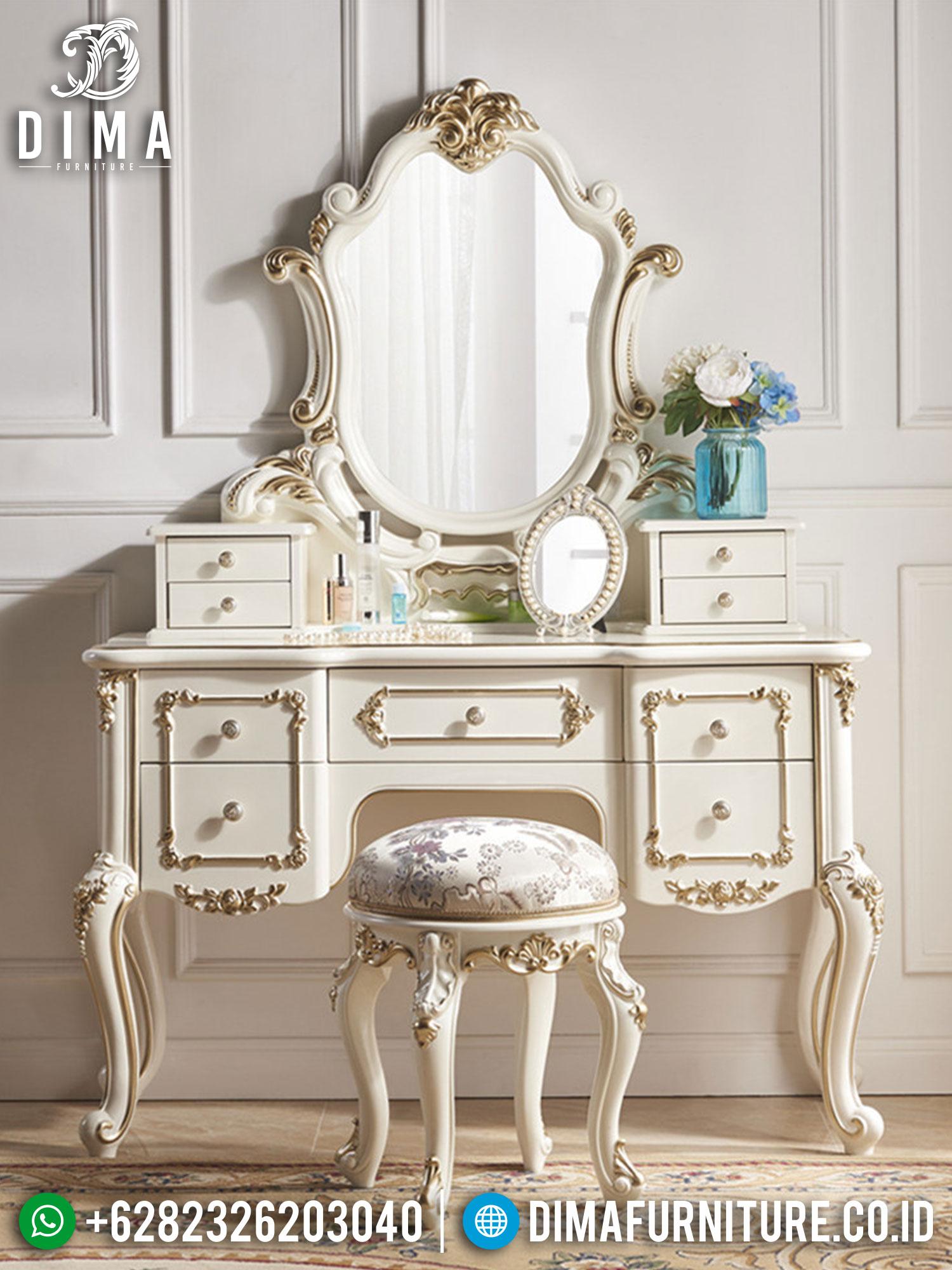 Alexa Style Meja Rias Mewah Luxury Carving Furniture Jepara Best Sale TTJ-1434