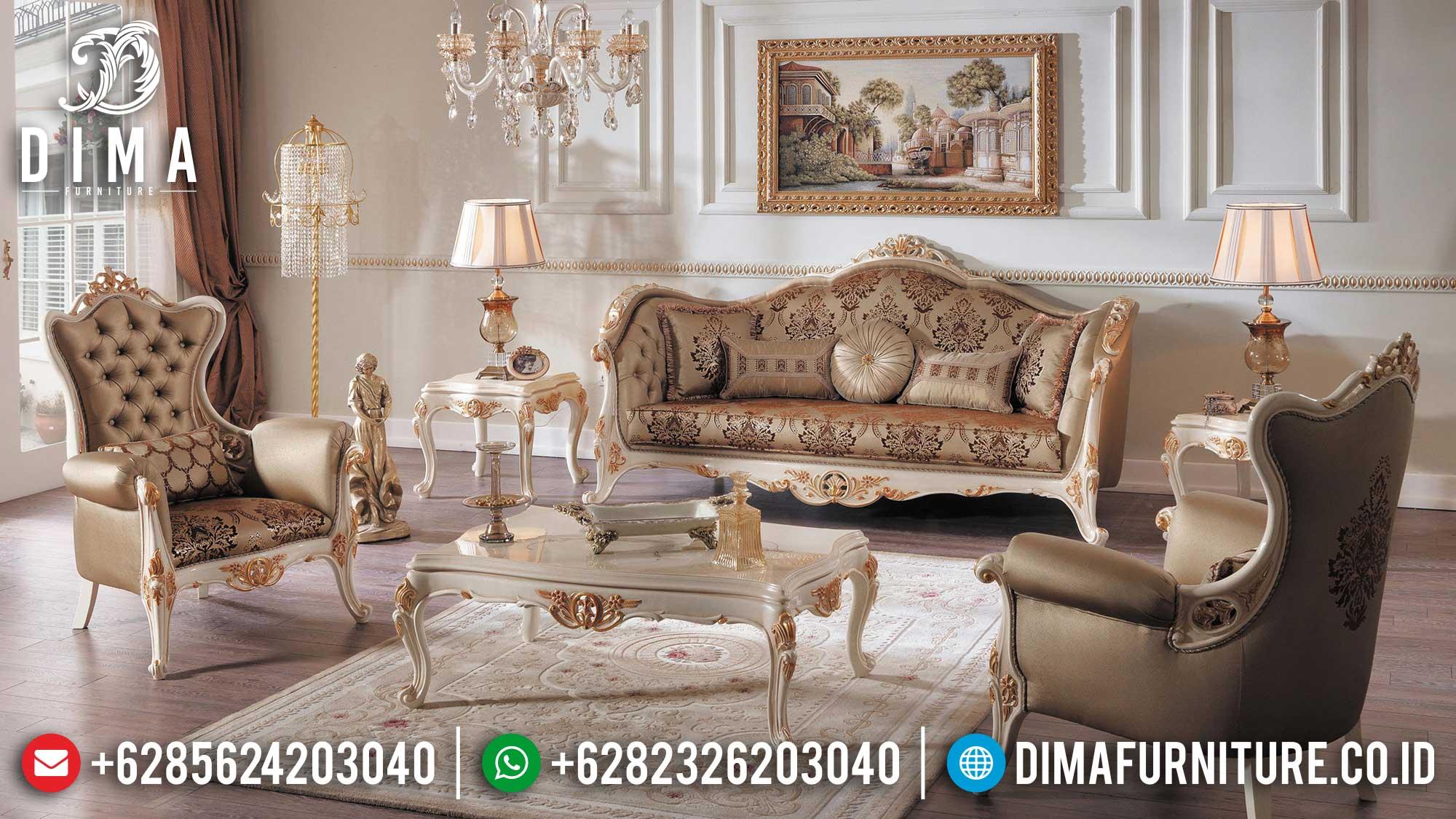 Beli Sofa Ruang Tamu Mewah Classic Luxury Premiere Model Furniture Jepara TTJ-1507