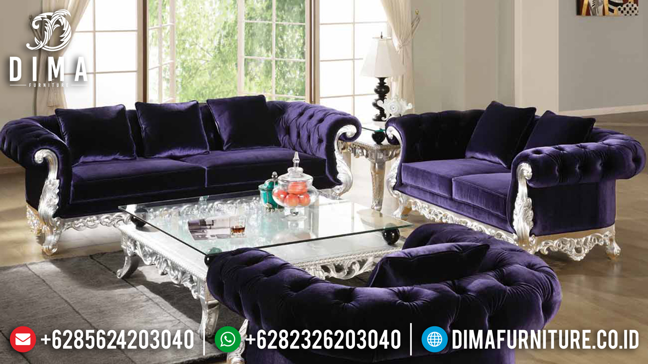 Carnavian Set Sofa Tamu Mewah Ukiran Jepara Luxurious Premiere Model Ttj-1539