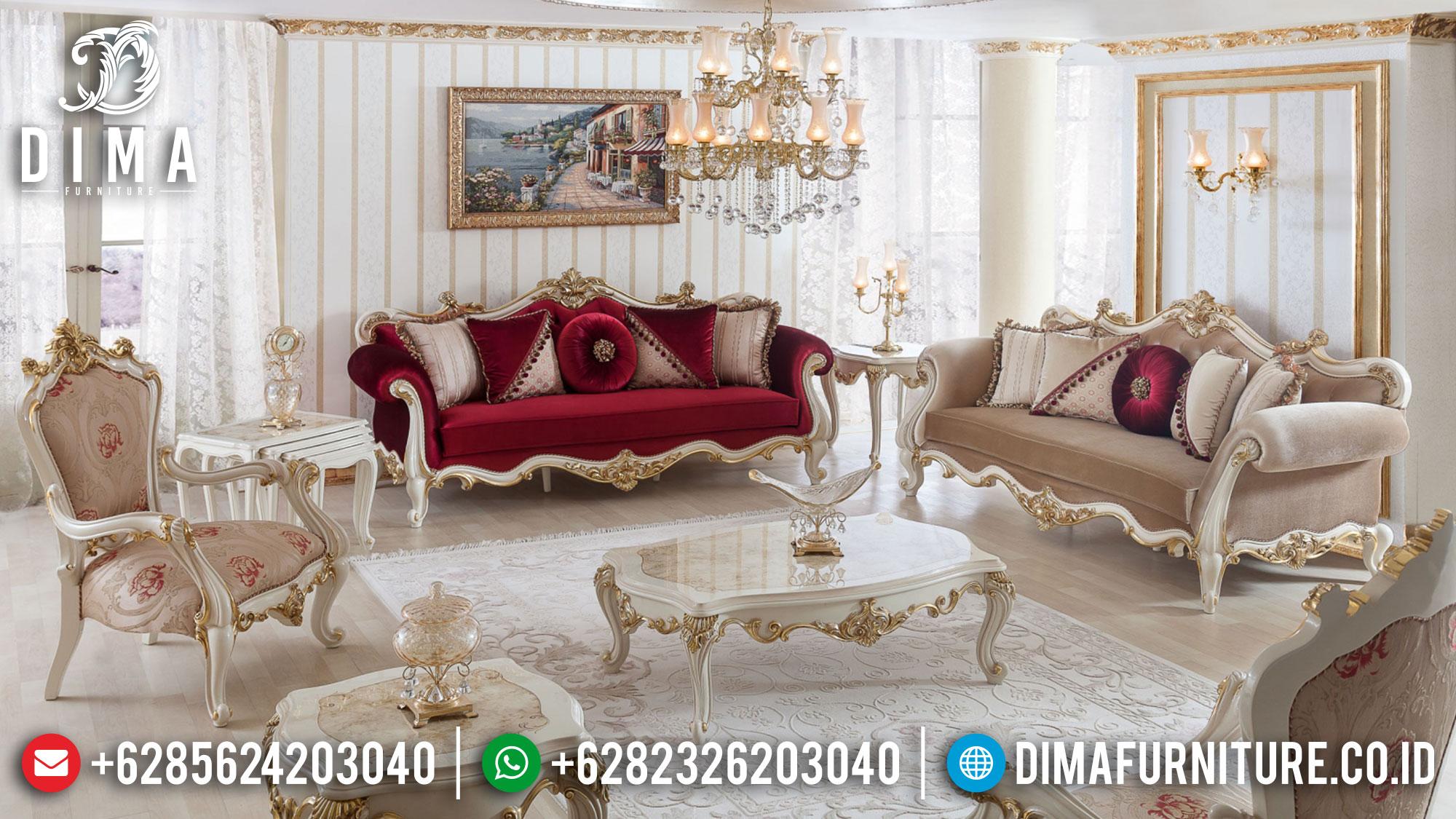 Get Sale Sofa Tamu Mewah Jepara Luxury Carving Classic Mebel Terupdate TTJ-1504