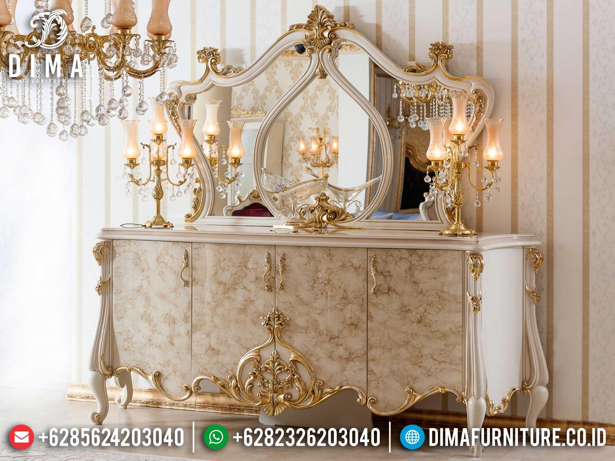 Great Item Meja Konsul Mewah Ukiran Jepara Elegant Luxury Classic Style TTJ-1403