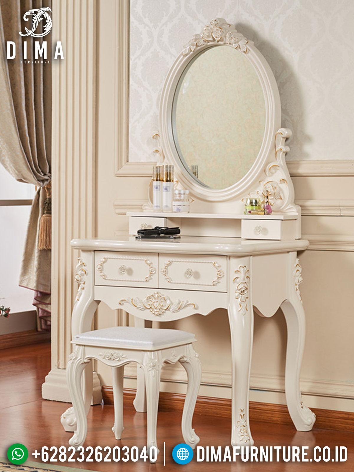 Harga Meja Rias Ukir Jepara Great Solid Wood Luxury Carving TTJ-1435