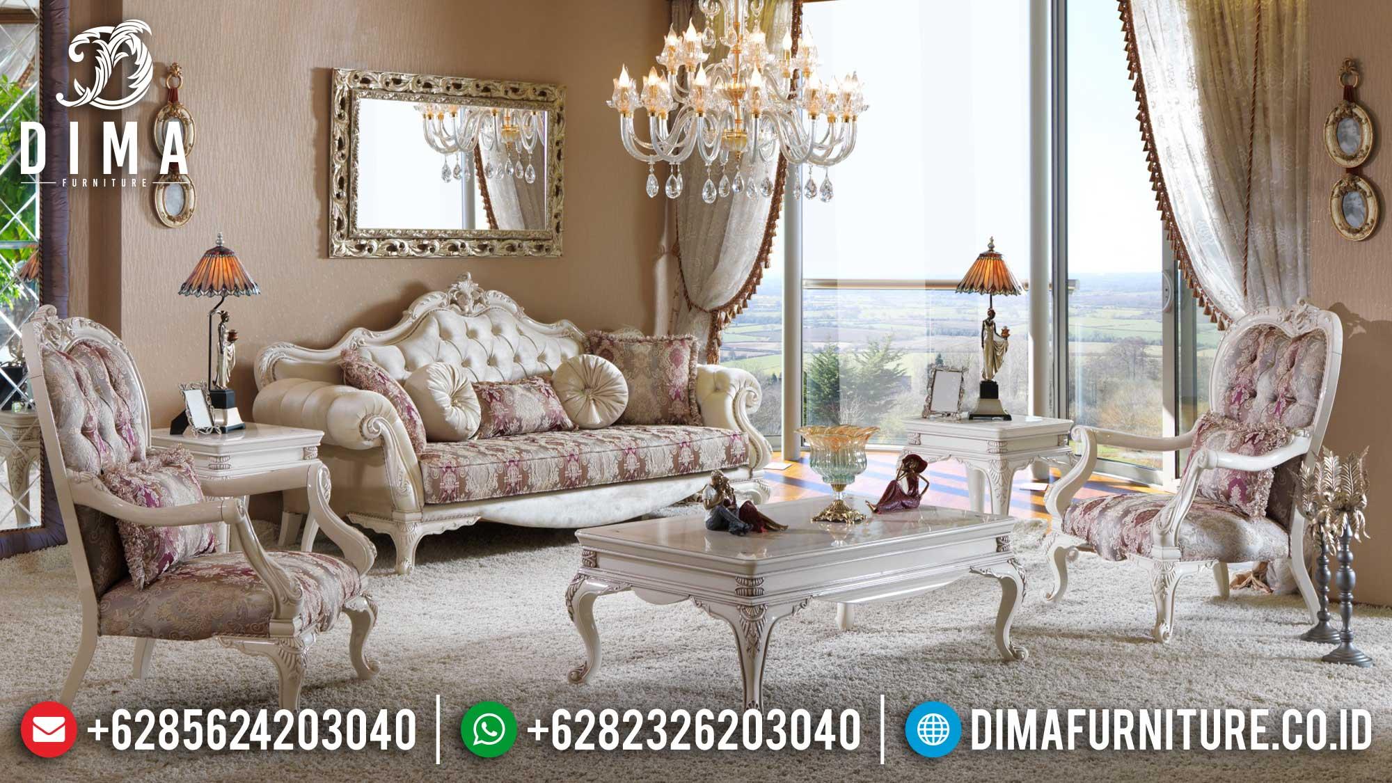 Harga Sofa Tamu Ukir Jepara Mewah New Luxury Design TTJ-1514