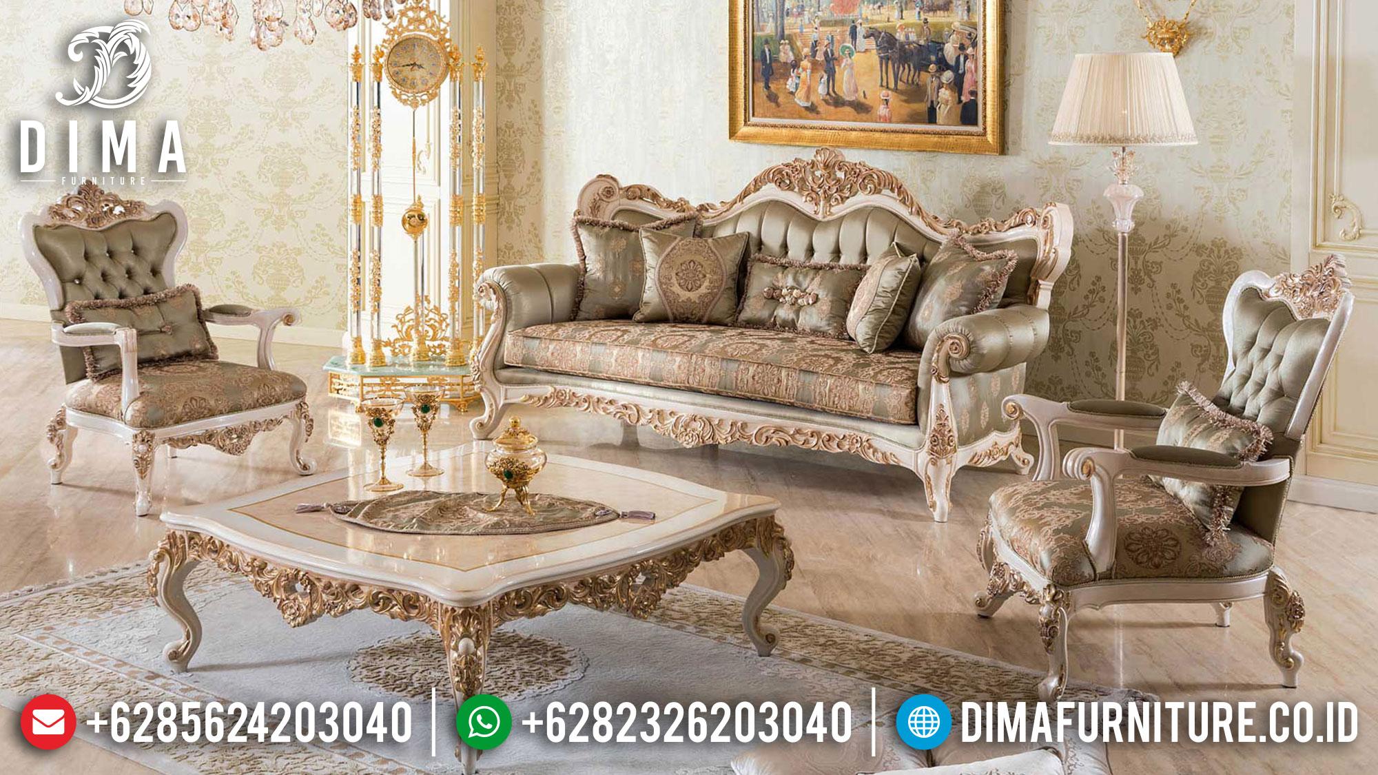 Italian Style Sofa Tamu Mewah Luxury Classic Premiere Sets TTJ-1491