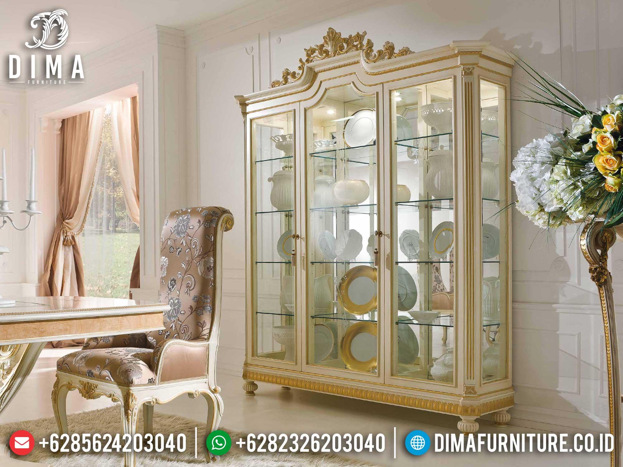 Jual Lemari Hias Mewah Jepara Best Collection Furniture Jepara Terbaru TTJ-1399