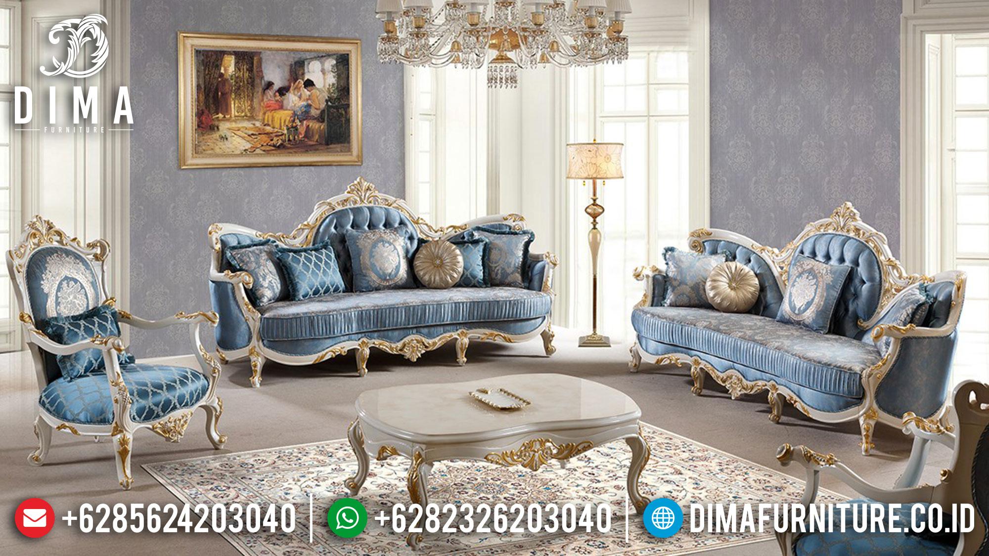Kursi Sofa Tamu Mewah Luxury Design Furniture Jepara Terlengkap TTJ-1515
