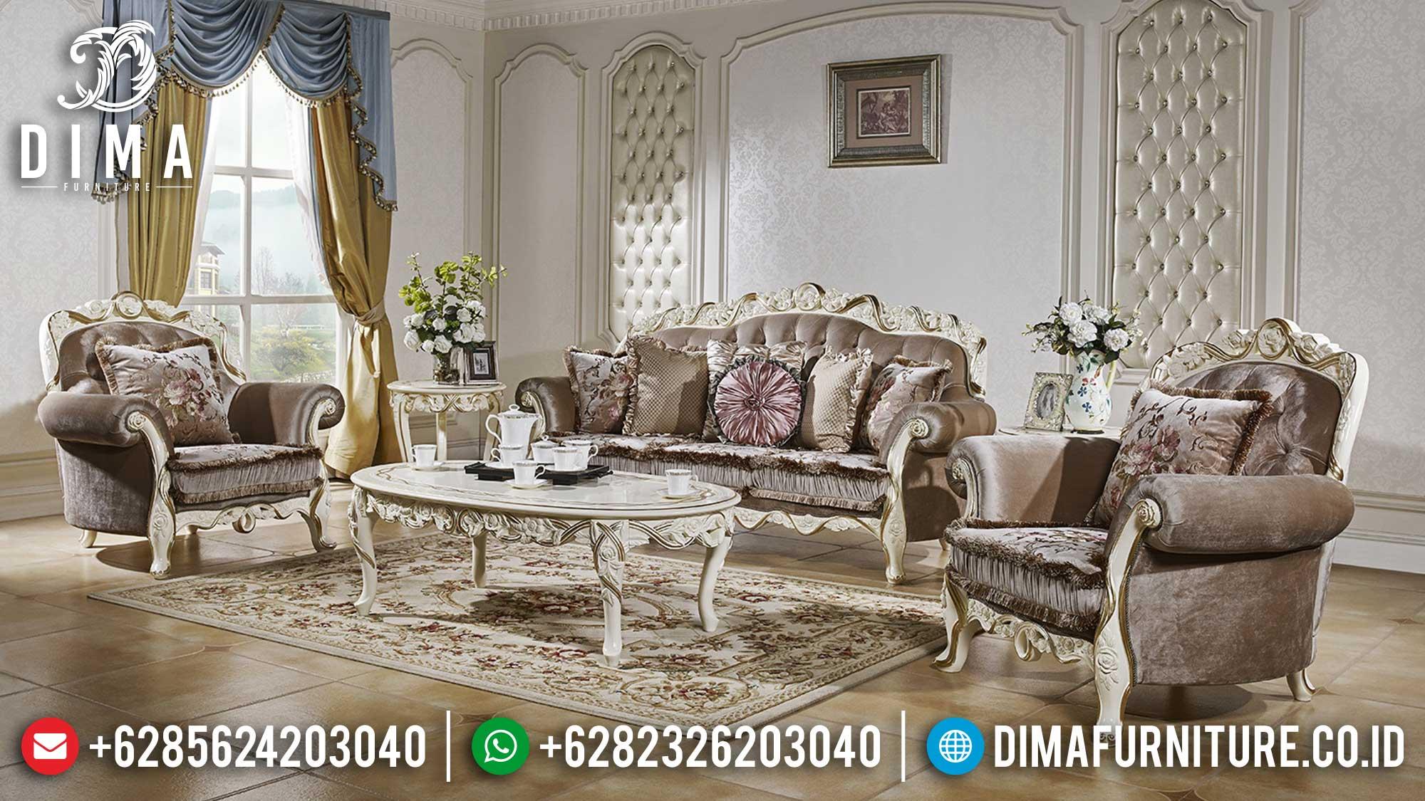 Kursi Sofa Tamu Mewah Set Ruang Tamu Luxury Majestic Classic Design TTJ-1493