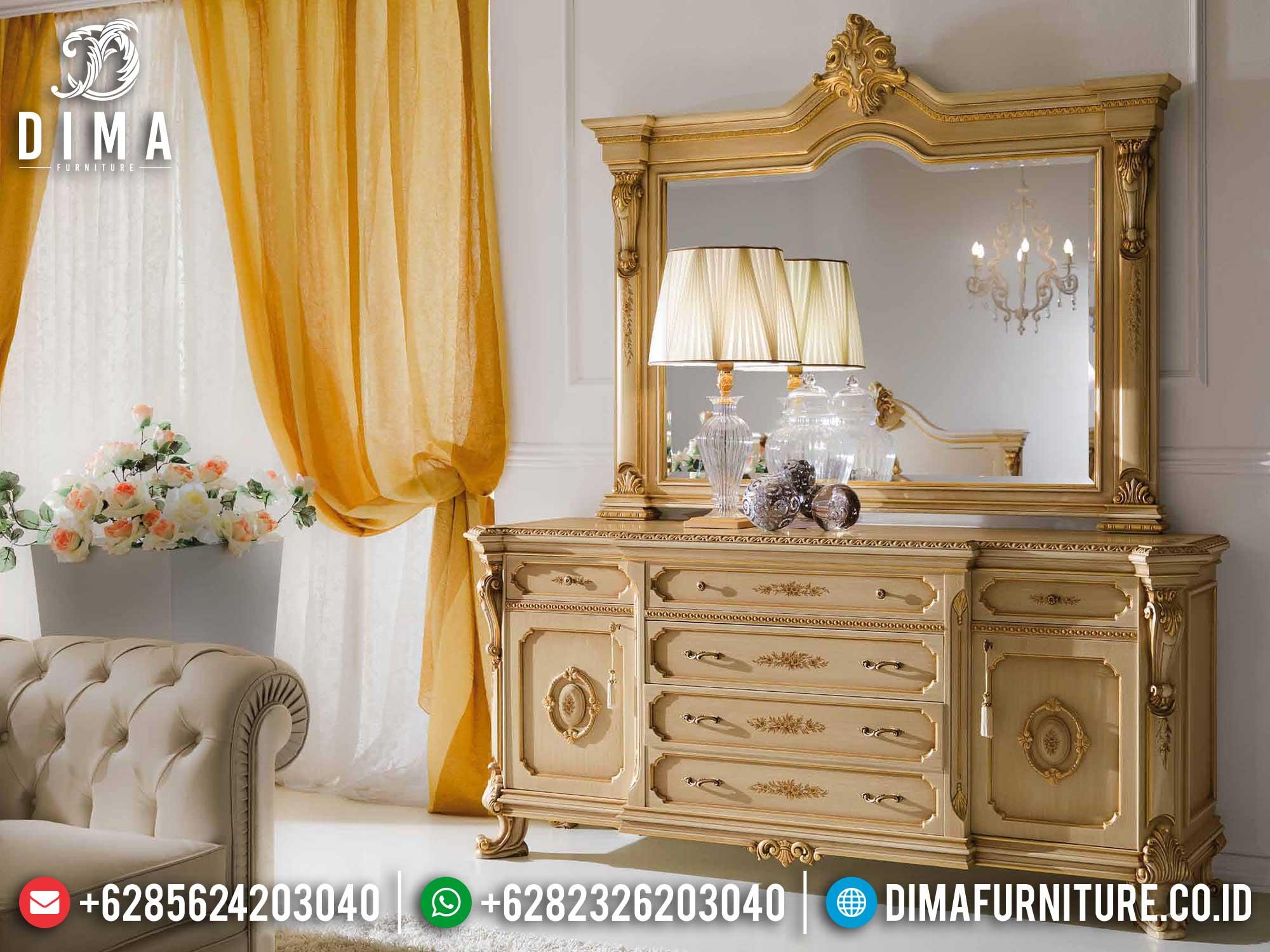 Meja Konsol Mewah Jepara Elegant Luxury Classic Design Termewah TTJ-1401