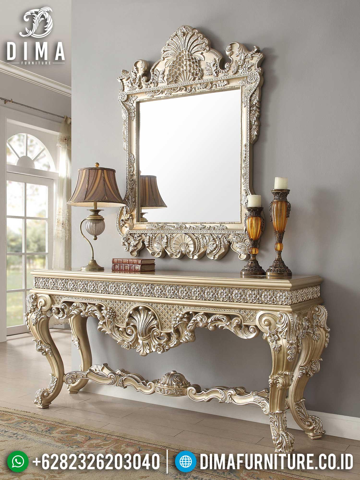 Meja Konsol Mewah Jepara Glorious Style Imperial Classic Luxury TTJ-1425