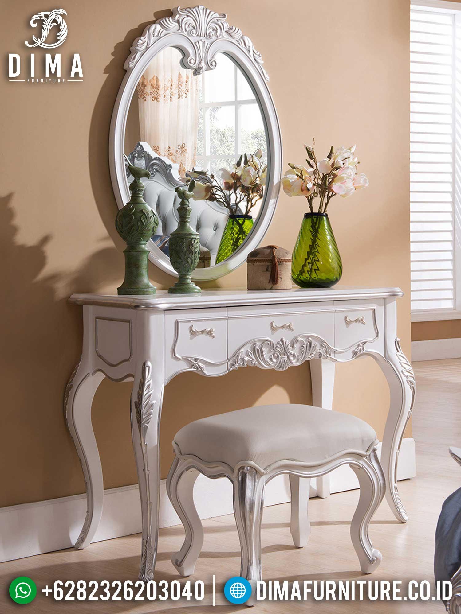 Set Meja Rias Mewah Jepara Luxury Vanity Room Furniture Jepara TTJ-1429