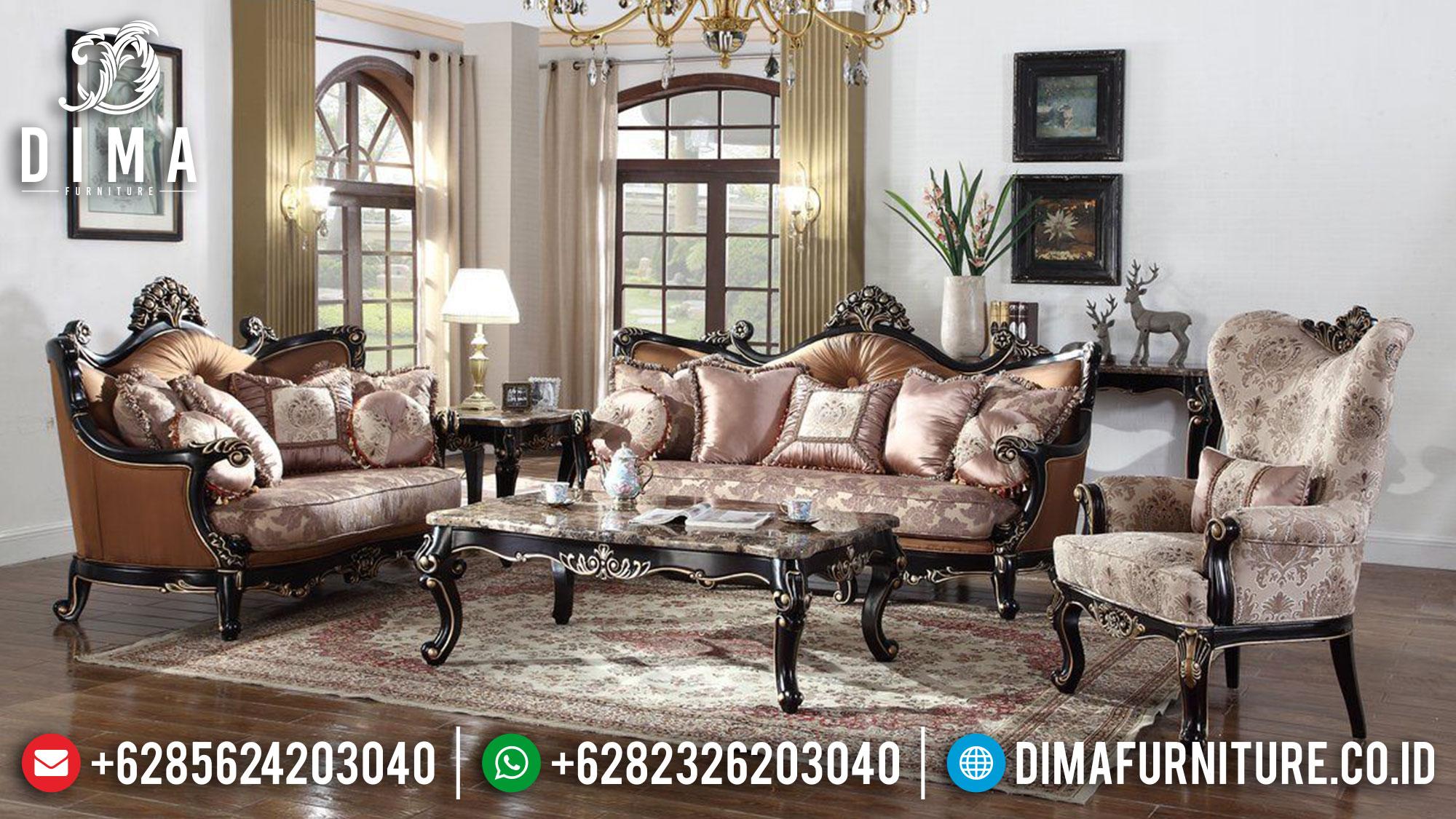Sofa Tamu Mewah Klasik Jepara Luxury Elegant Design Jepara TTJ-1517