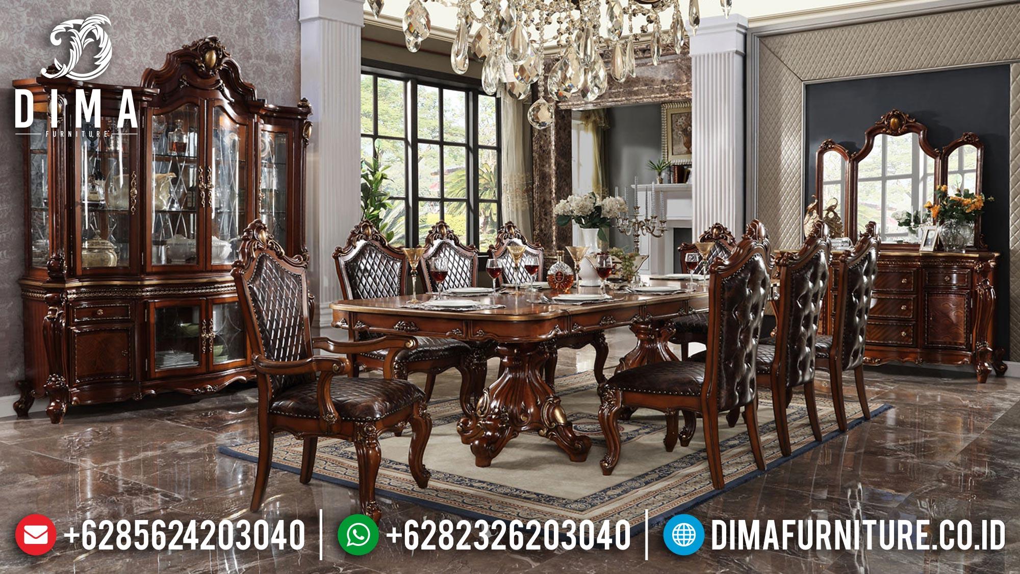 Best Sale Meja Makan Mewah Klasik Luxurious Design TTJ-1613
