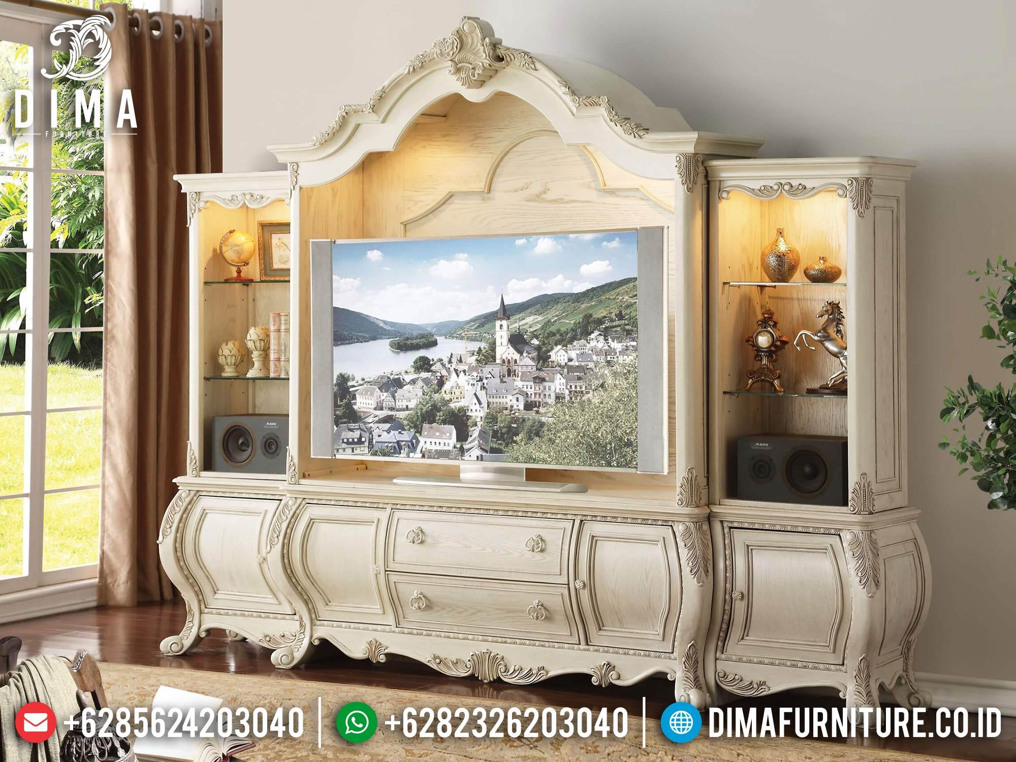 Bufet TV Mewah Jepara Elizabeth Design Luxury Elegant Style TTJ-1652