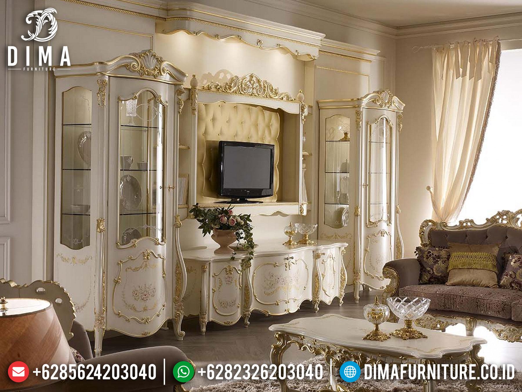 Buy Now Bufet TV Mewah Jepara Luxury Carving TTTJ-1643