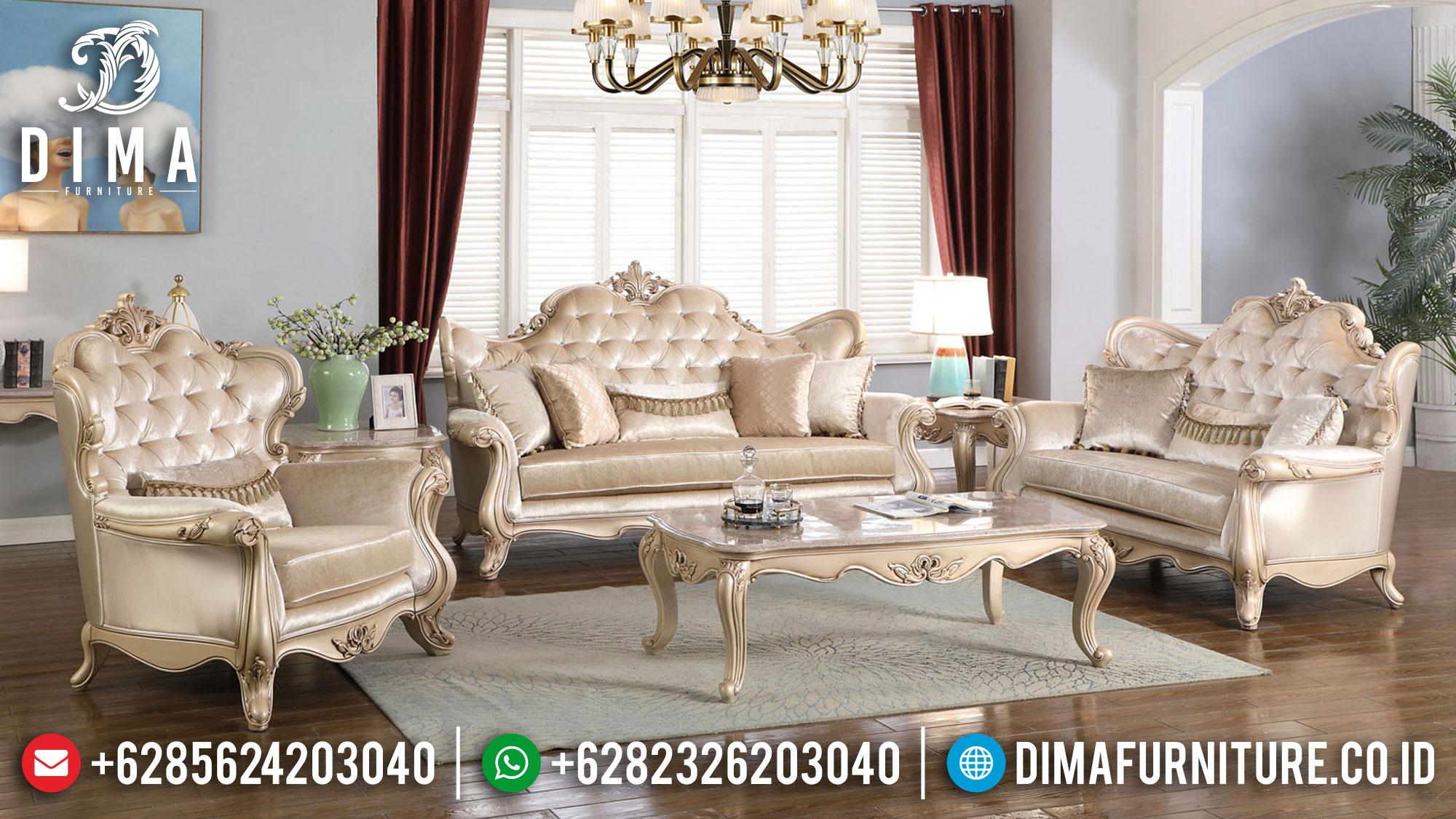 Desain Sofa Mewah Terbaru Luxury Carving Empire Style TTJ-1623