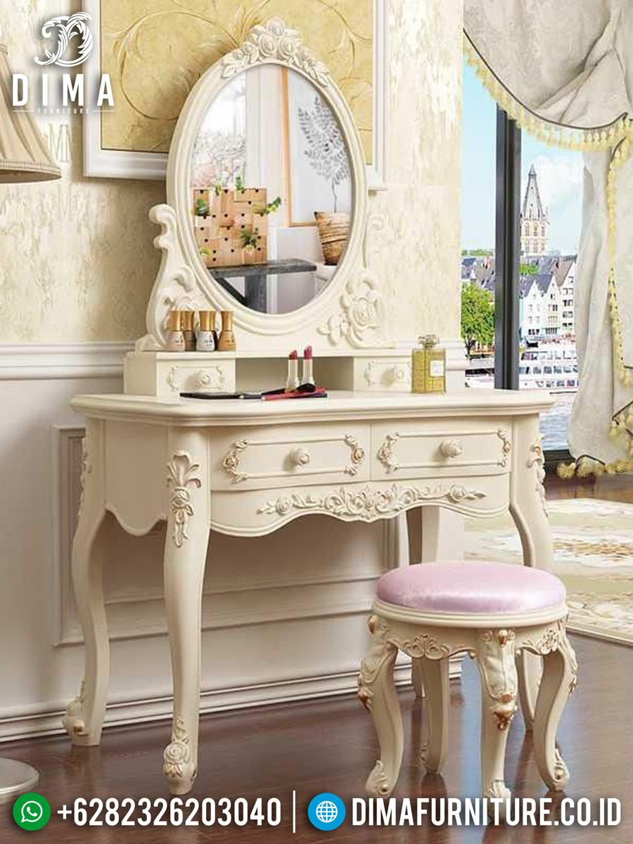 Glorious Style Meja Rias Mewah Classic Luxury Furniture Jepara TTJ-1549