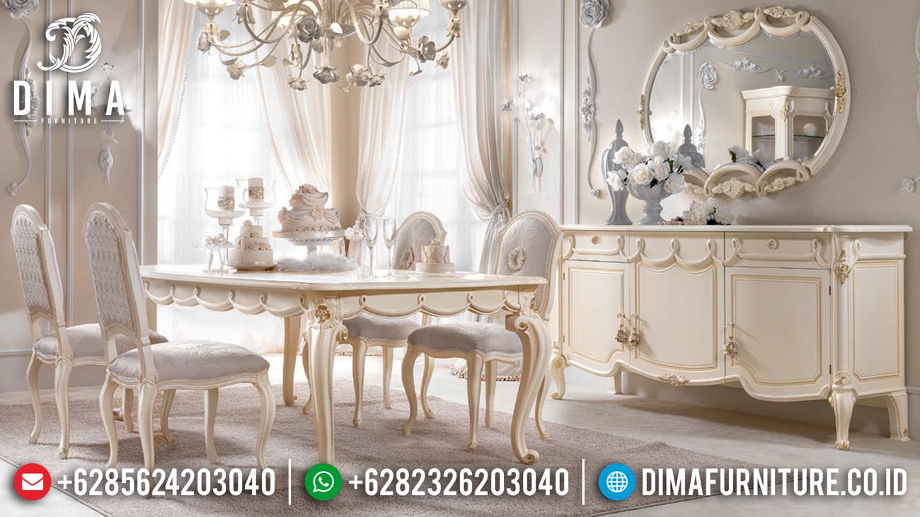 Harga Meja Makan Mewah Jepara Classic Luxury New Design TTJ-1595