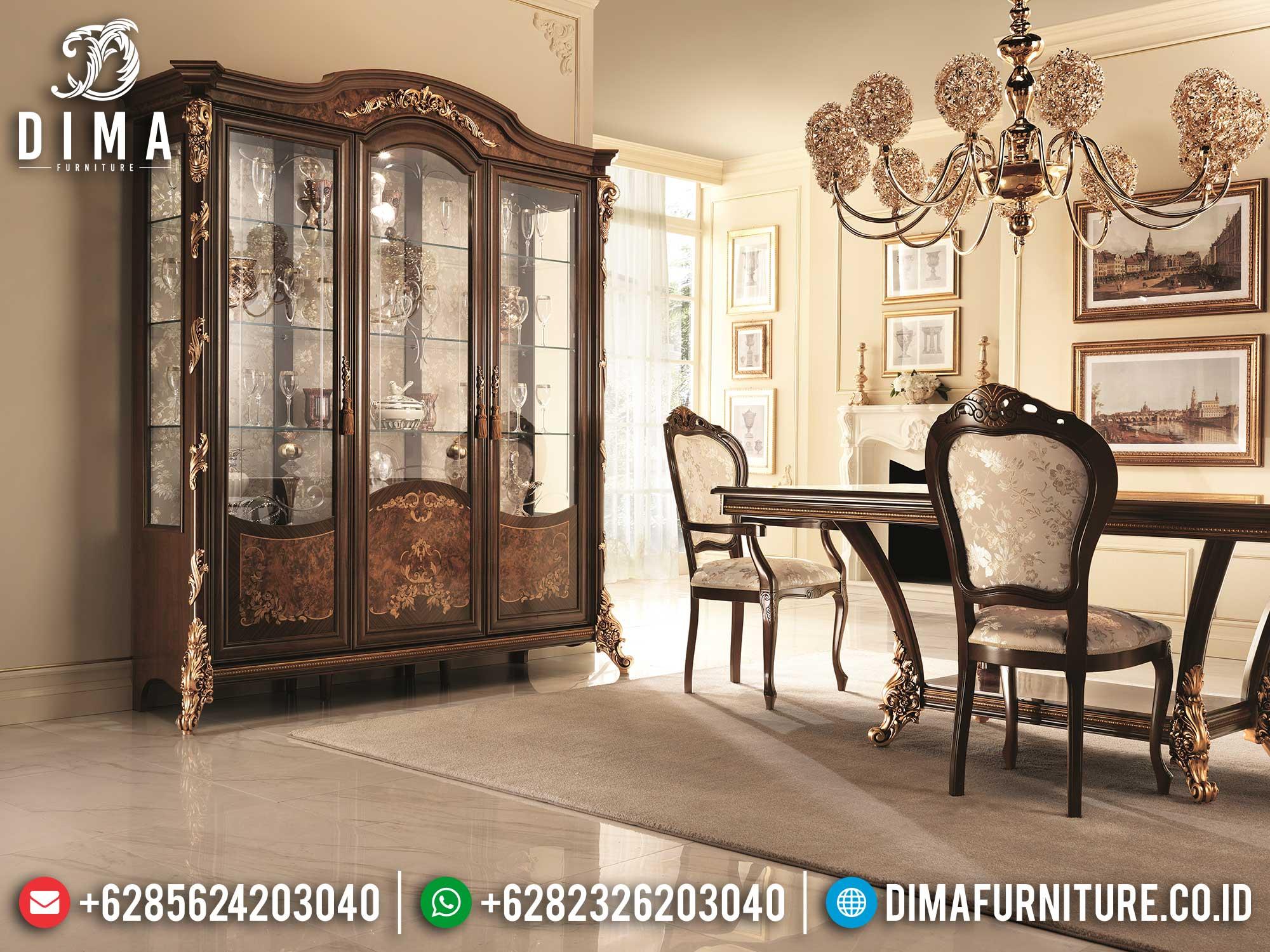 Jual Lemari Pajangan Mewah Luxurious Elegant Style TTJ-1677