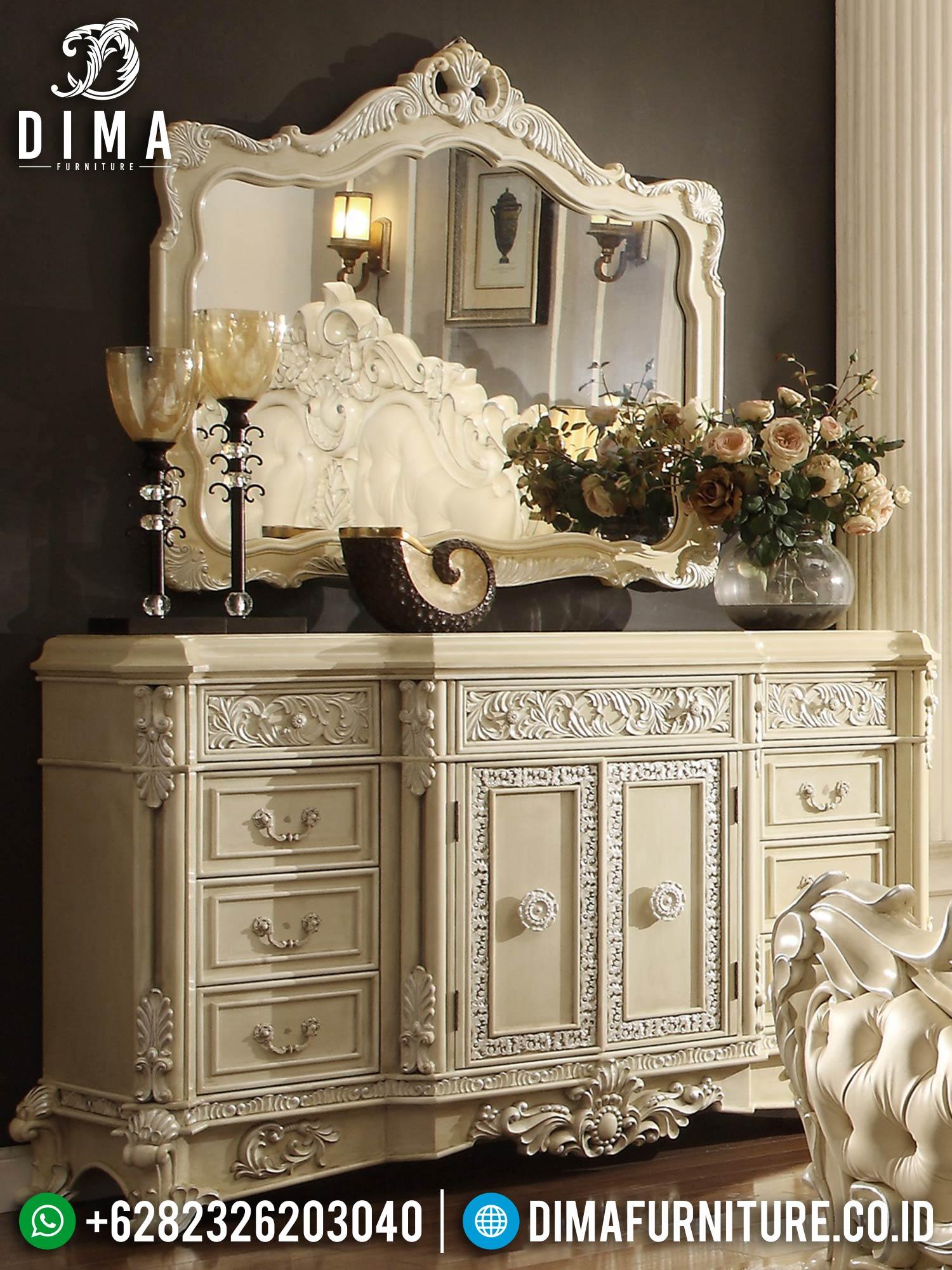 Order Now Meja Konsol Mewah Ukir Jepara Beautiful Design Interior TTJ-1561