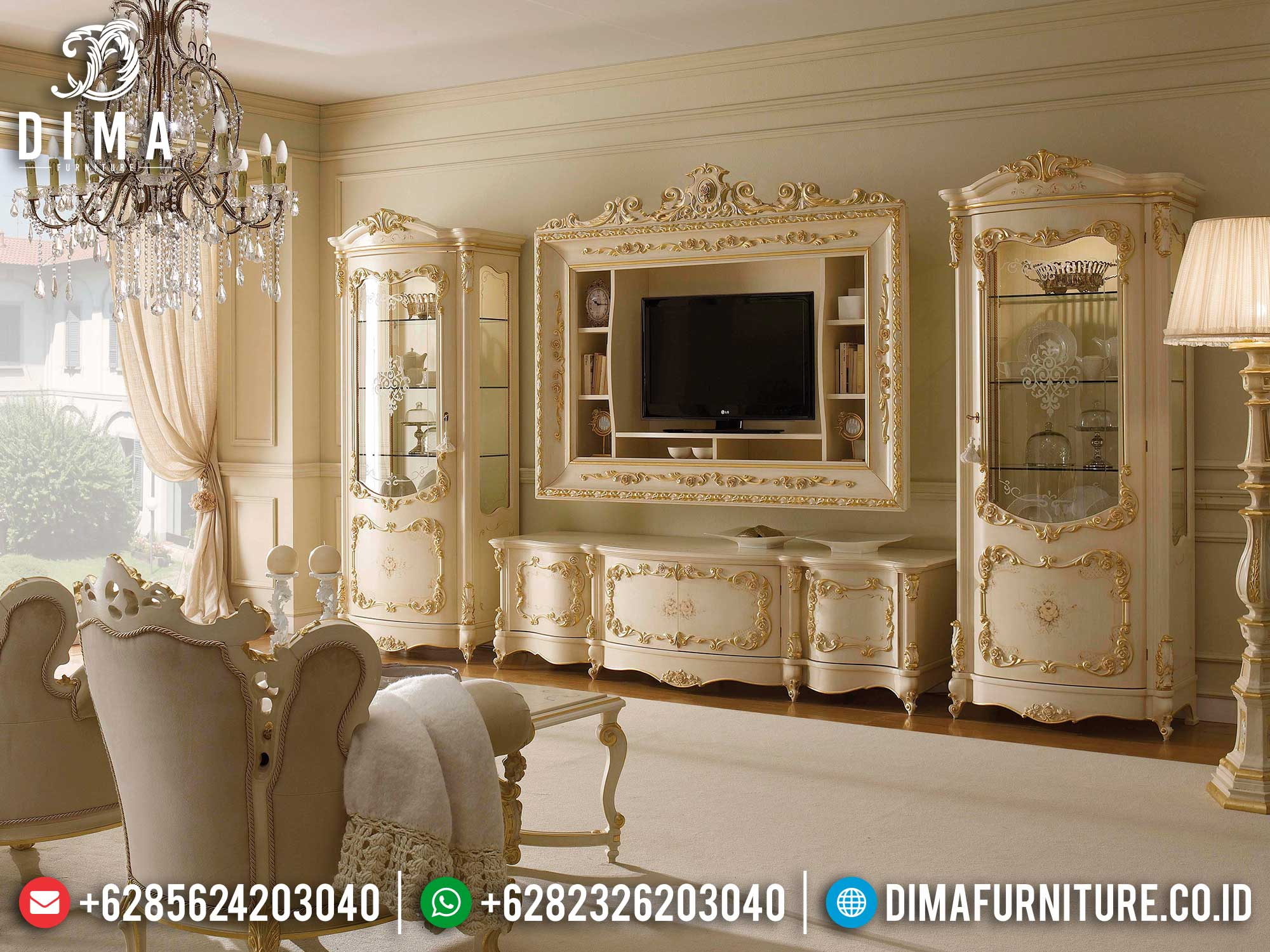 Ramadhan Special Bufet TV Mewah Luxury Interior Inspiring Design TTJ-1631
