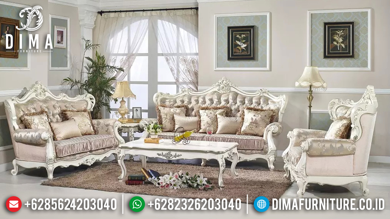 Sofa tamu mewah ukir jepara luxury classic new furniture jepara TTJ-1617