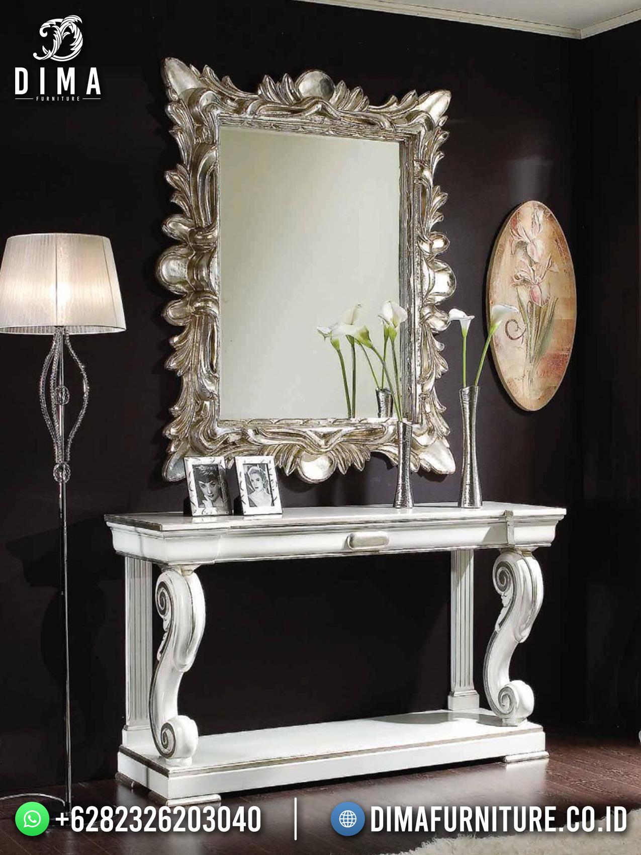 Desain Meja Konsul Mewah Jepara Classic Art Duco Color Style Luxury TTJ-1704