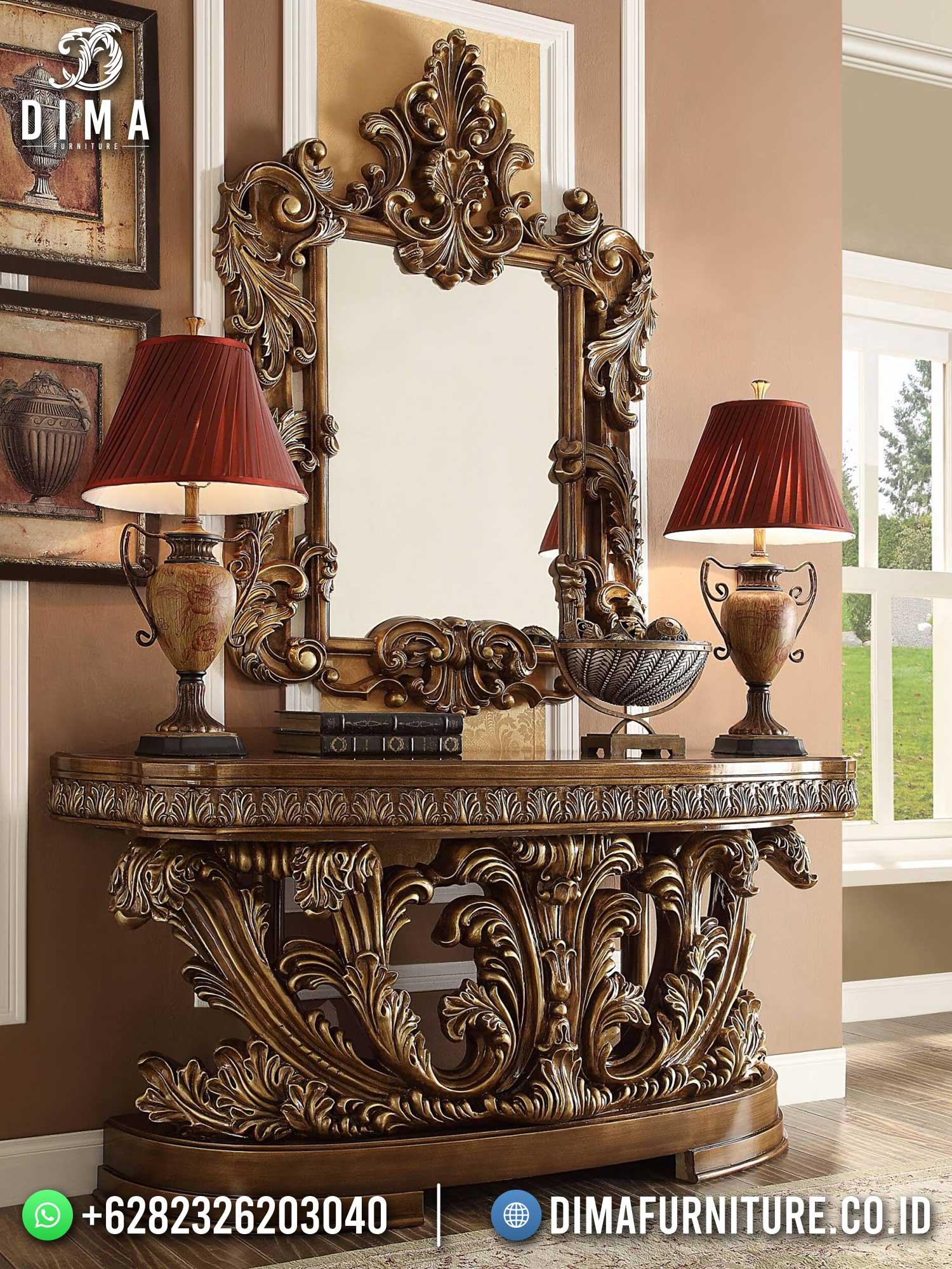 Harga Meja Konsul Mewah Jepara Excellent Duco Color Great Emoire Style TTJ-1706