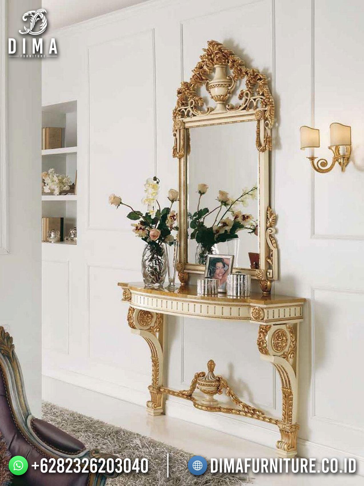 Jual Meja Konsul Mewah Terbaru Excellent Royal Design Great Quality TTJ-1713