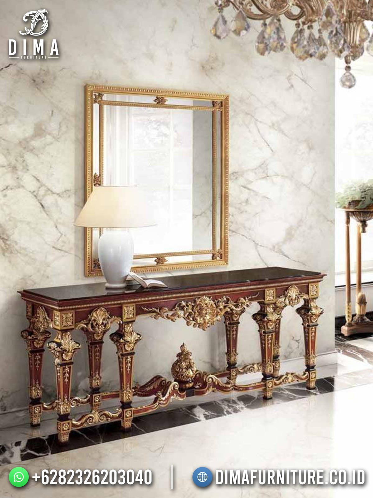 Luxury Set Meja Konsul Ukir Jepara Best Seller New 2021 TTJ-1715