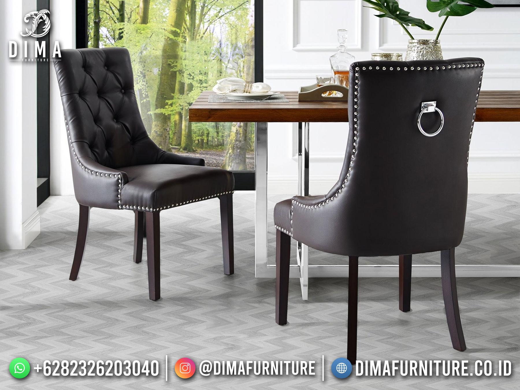 New Kursi Makan Minimalis Set Meja Makan Modern Luxury Design TTJ-1766