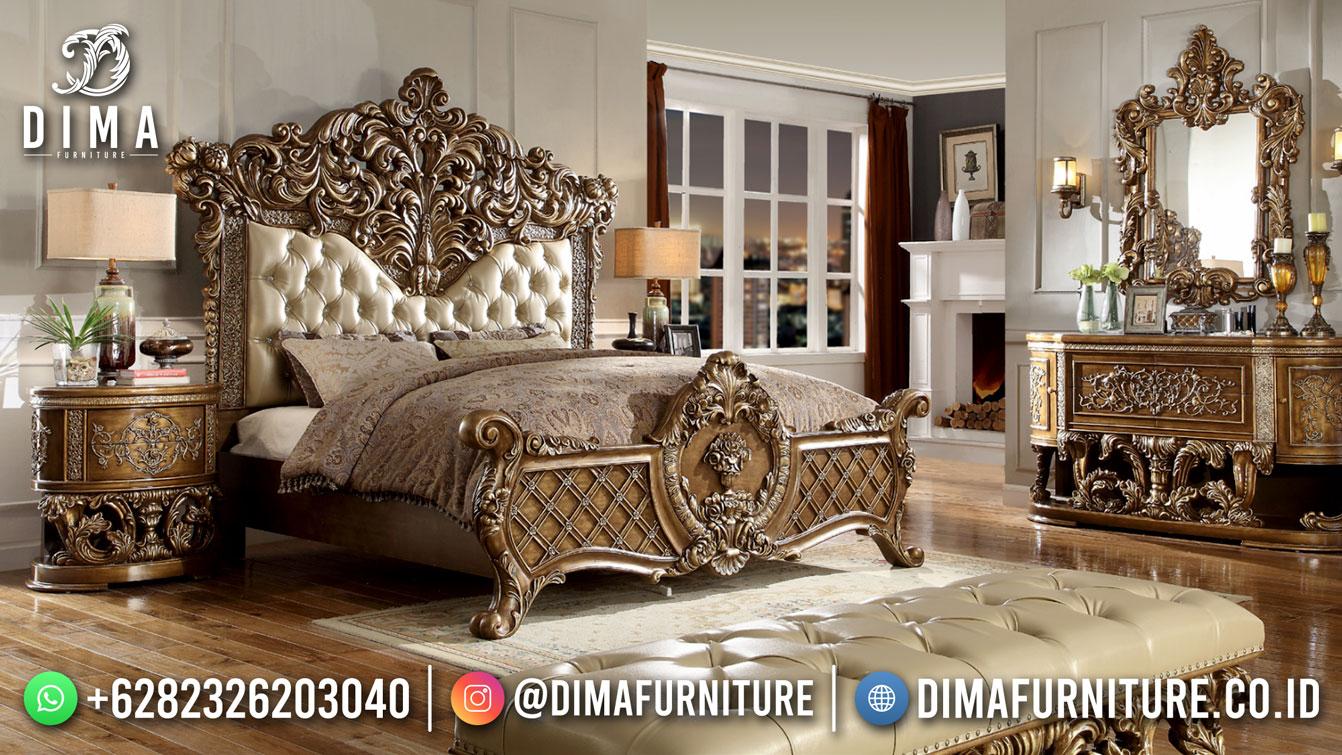 Best Design Kamar Set Mewah Ukiran Luxury Jepara Furniture TTJ-1813