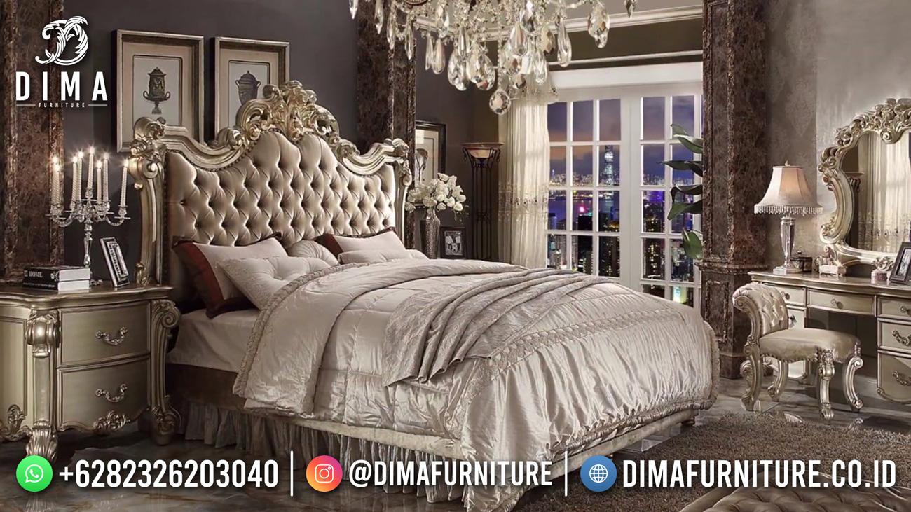 Best Quality Tempat Tidur Mewah Klasik Jepara TTJ-1832