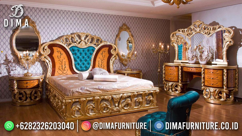 Butterfly Style Tempat Tidur Jepara Luxury Glamorous Design TTJ-1818