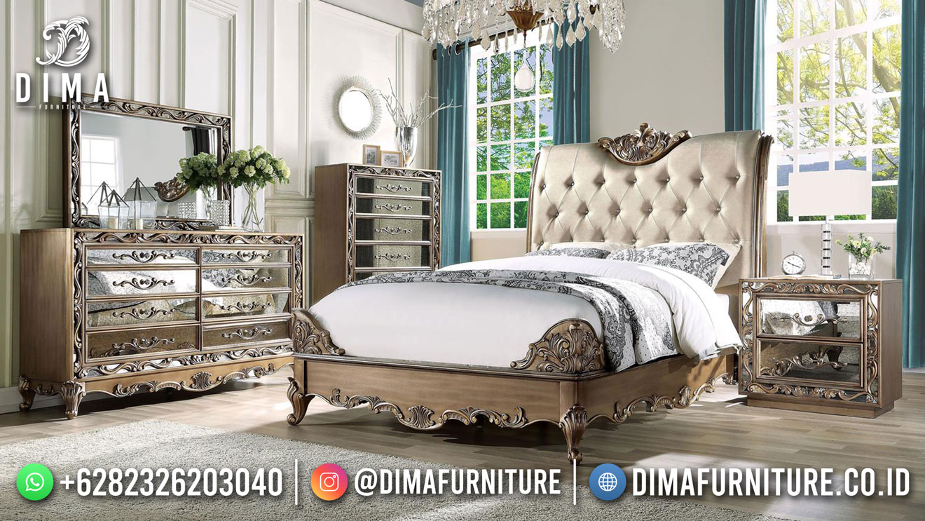Design Exclusive Kamar Set Mewah Elegan Good Quality TTJ-1819